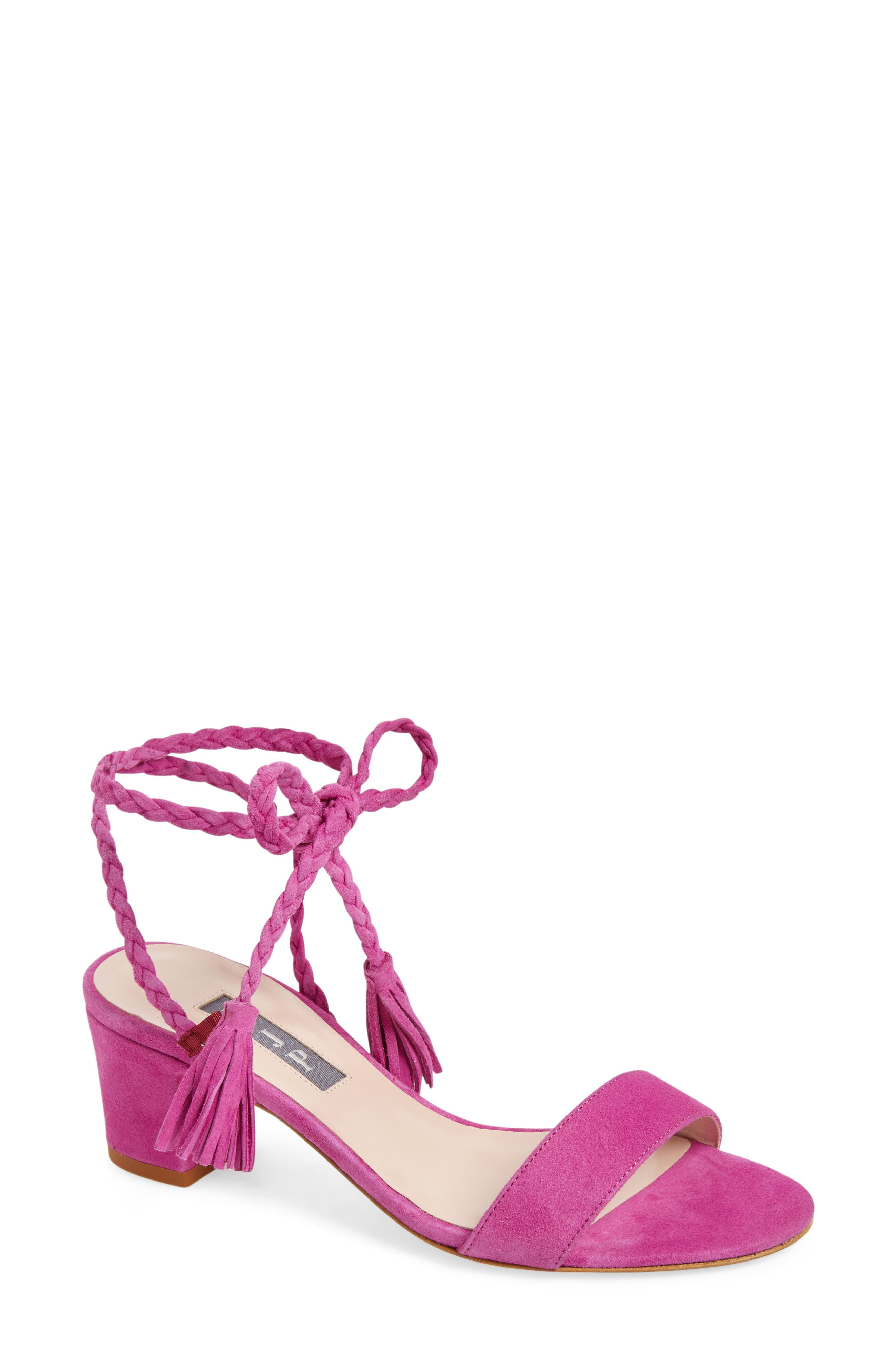 Alternate Image 1 Selected - SJP by Sarah Jessica Parker Elope Lace-Up Sandal (Women)