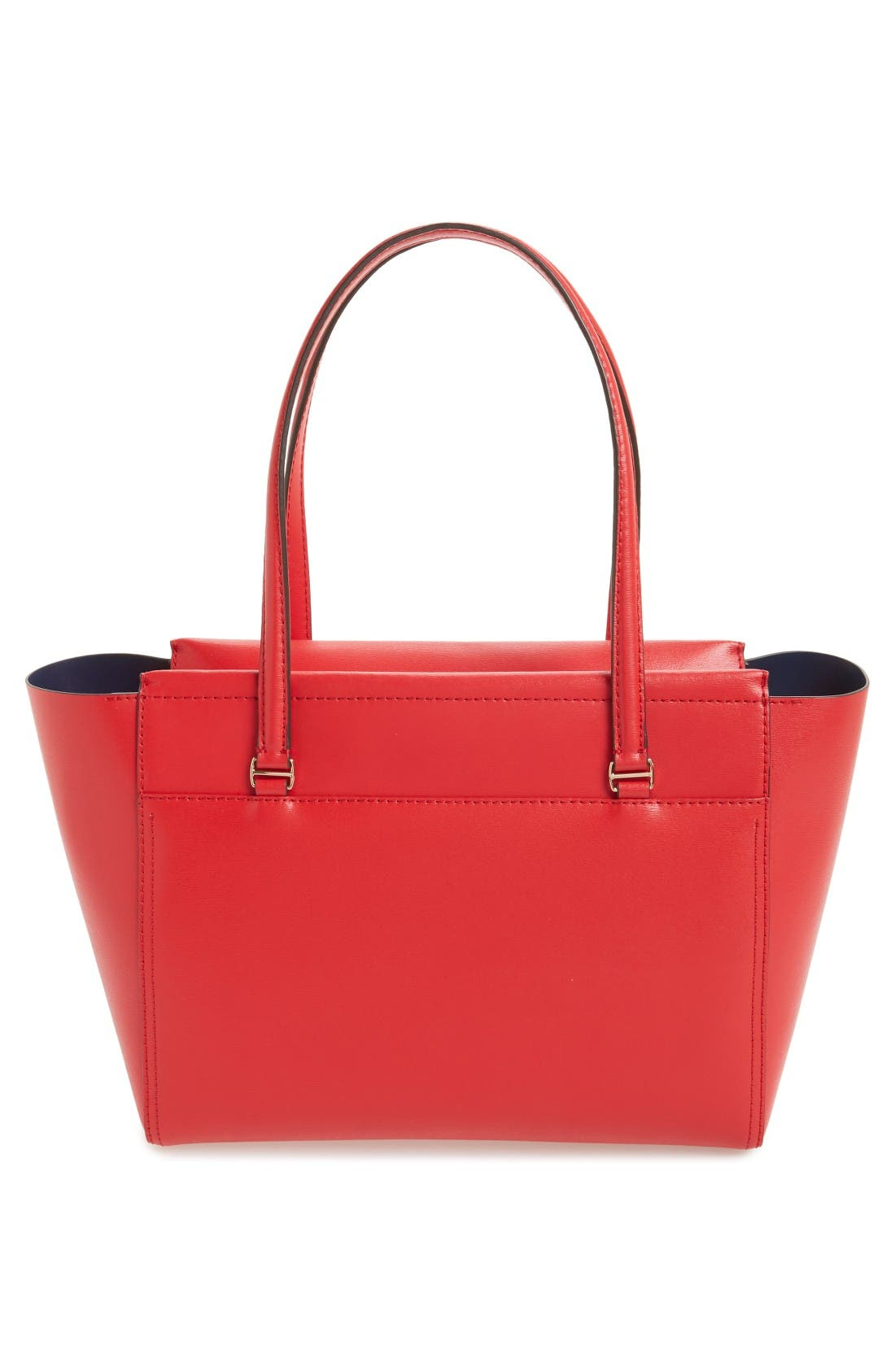 Alternate Image 7  - Tory Burch Small Parker Leather Tote