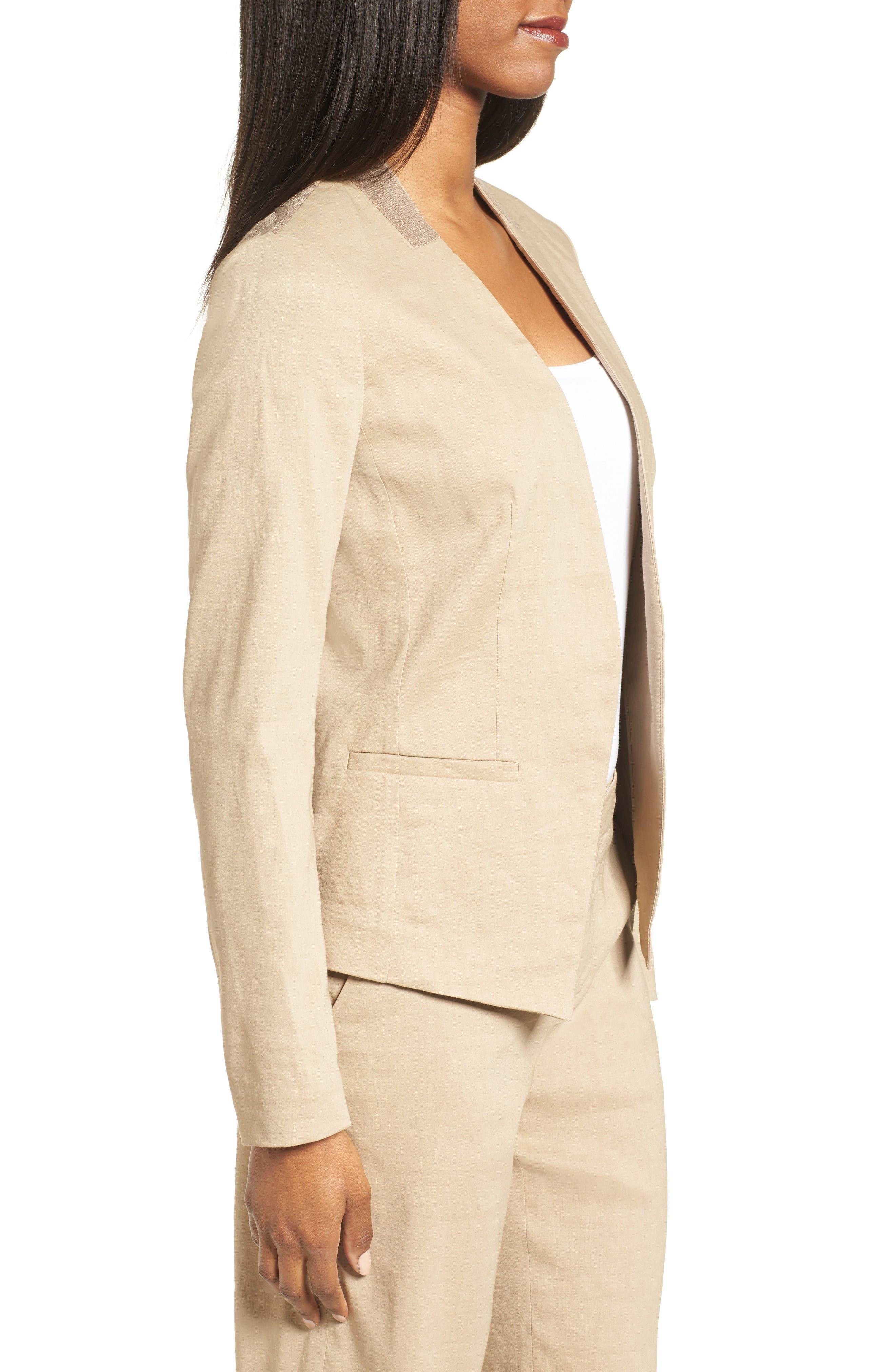 Alternate Image 4  - Kobi Halperin Claudia Lace Trim Jacket