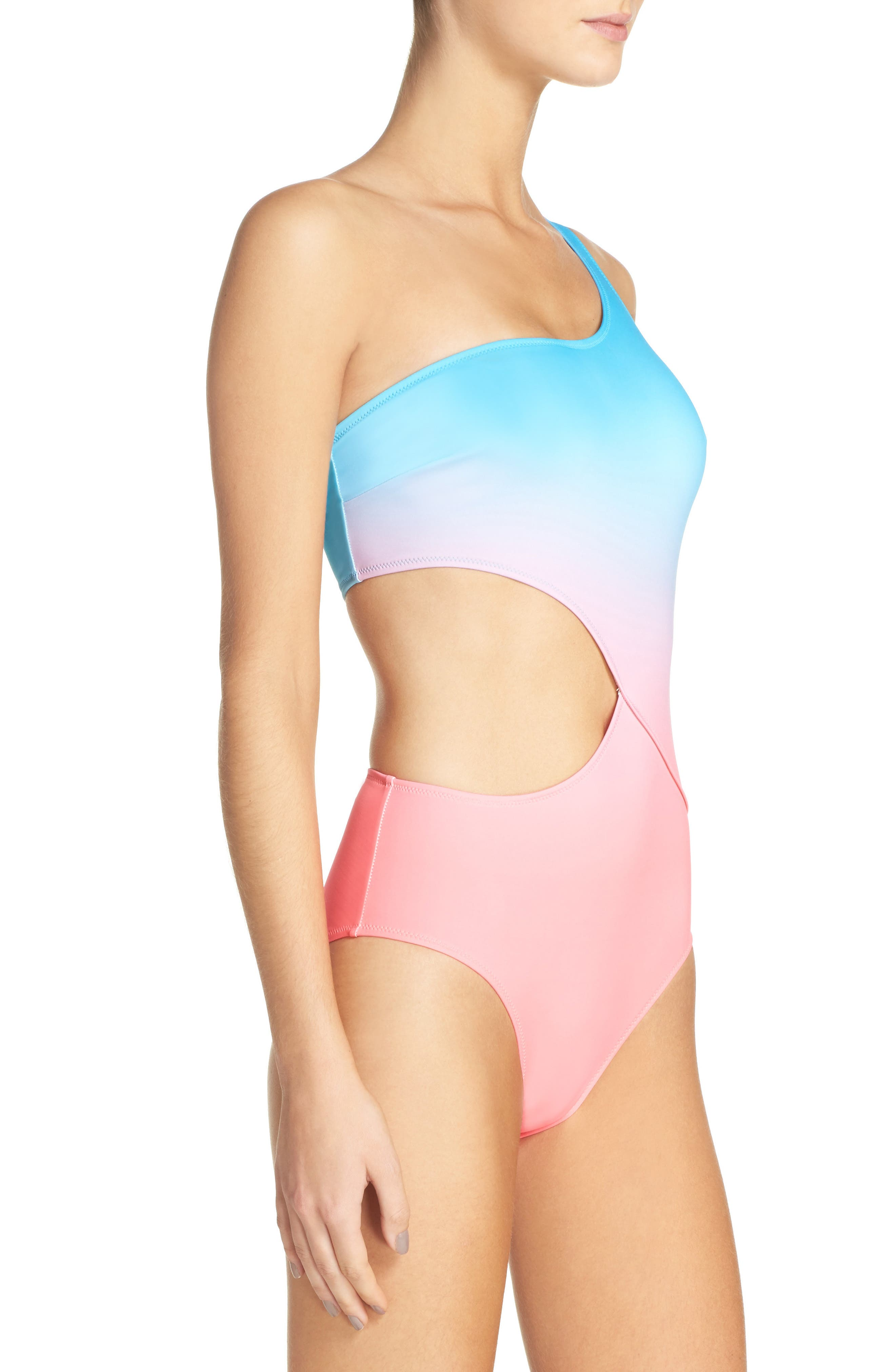 Alternate Image 3  - Solid & Striped Claudia One-Piece Swimsuit