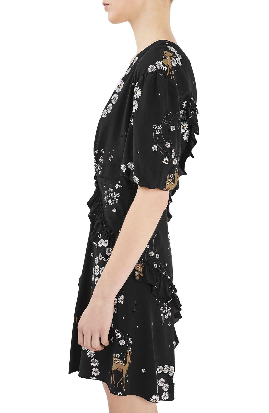 Alternate Image 5  - Topshop Unique Alice Silk Minidress