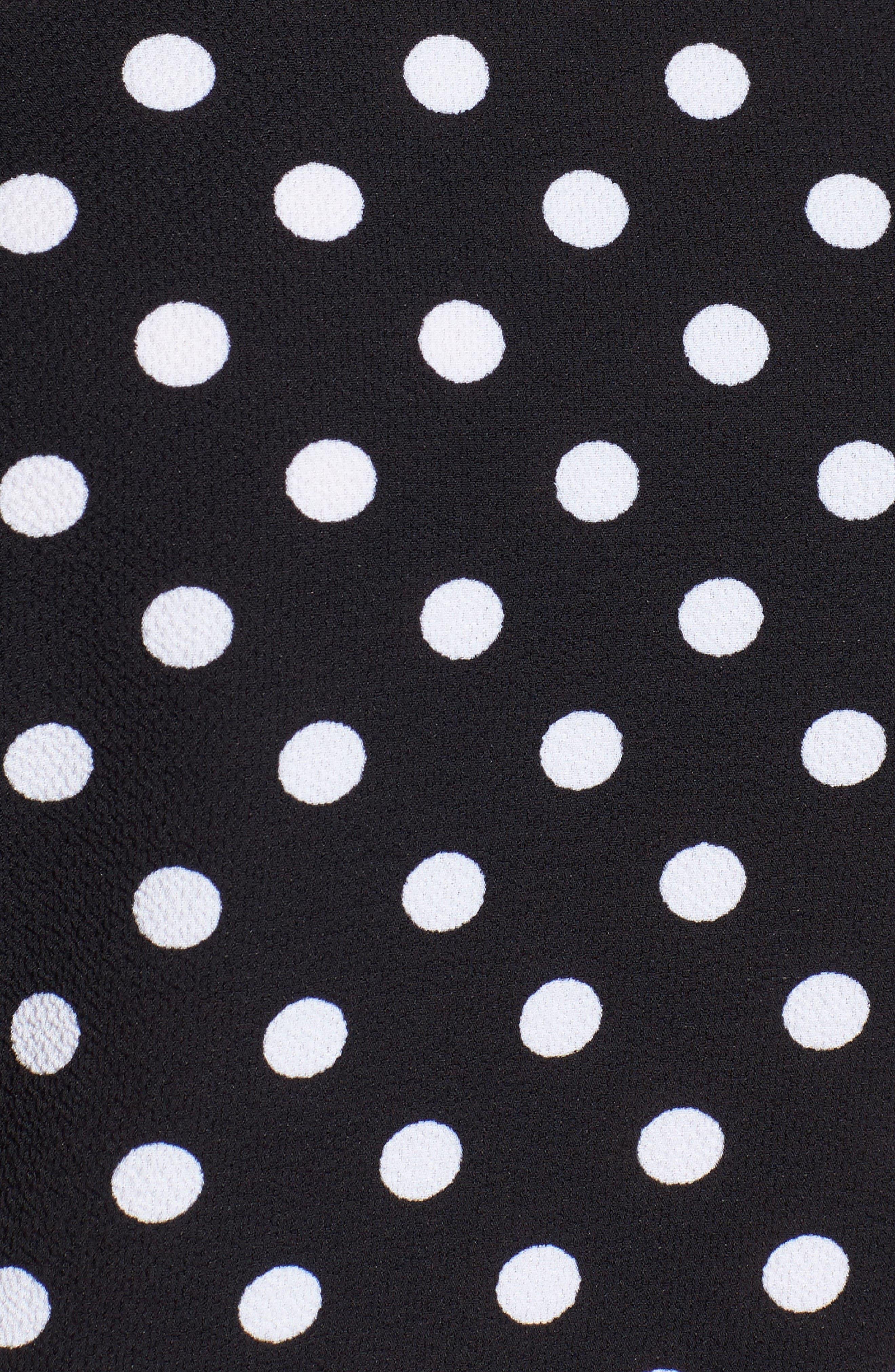 Alternate Image 5  - MICHAEL Michael Kors Polka Dot Kimono Top (Regular & Petite)