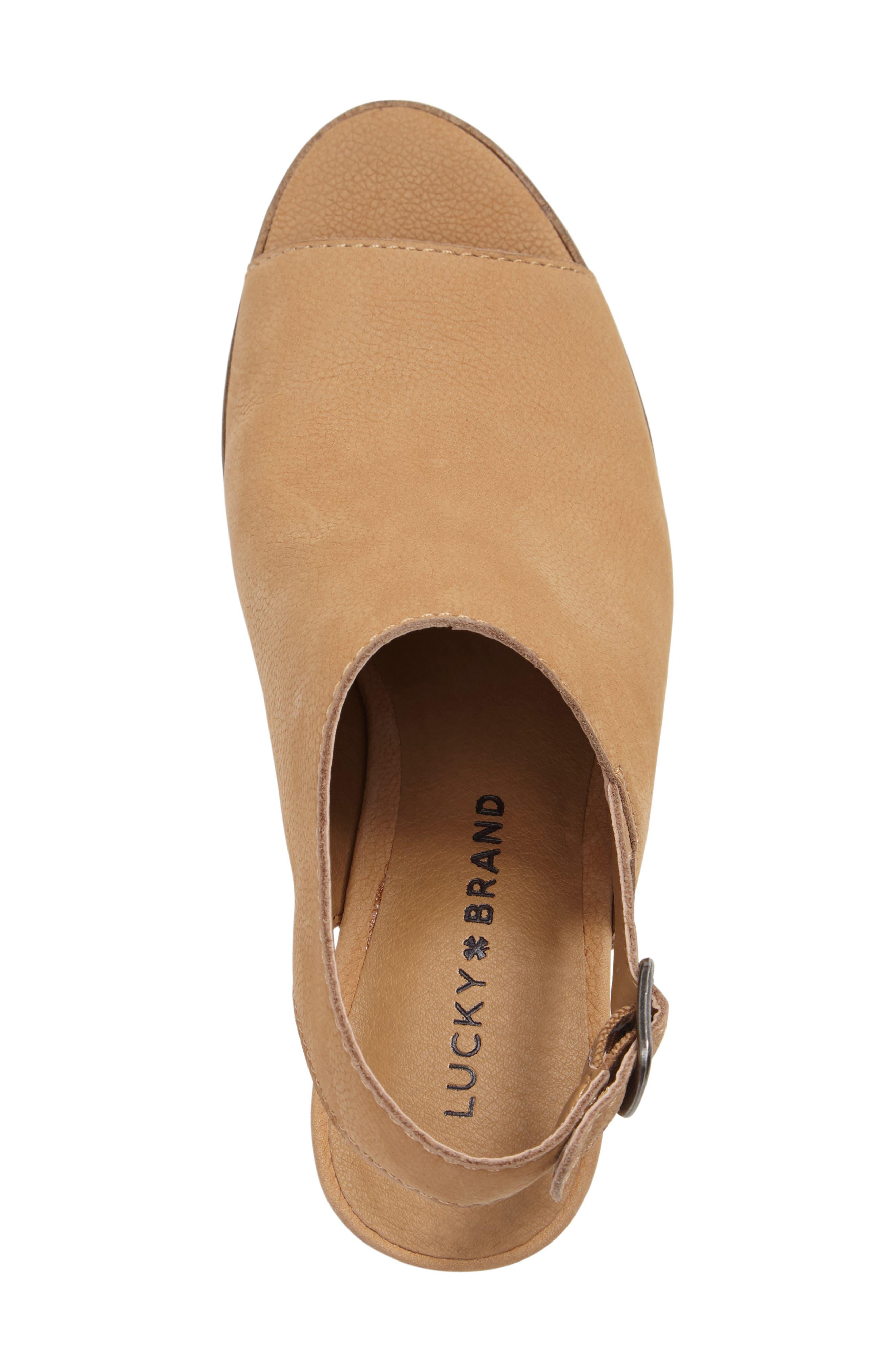 Alternate Image 3  - Lucky Brand Obelia Block Heel Sandal (Women)