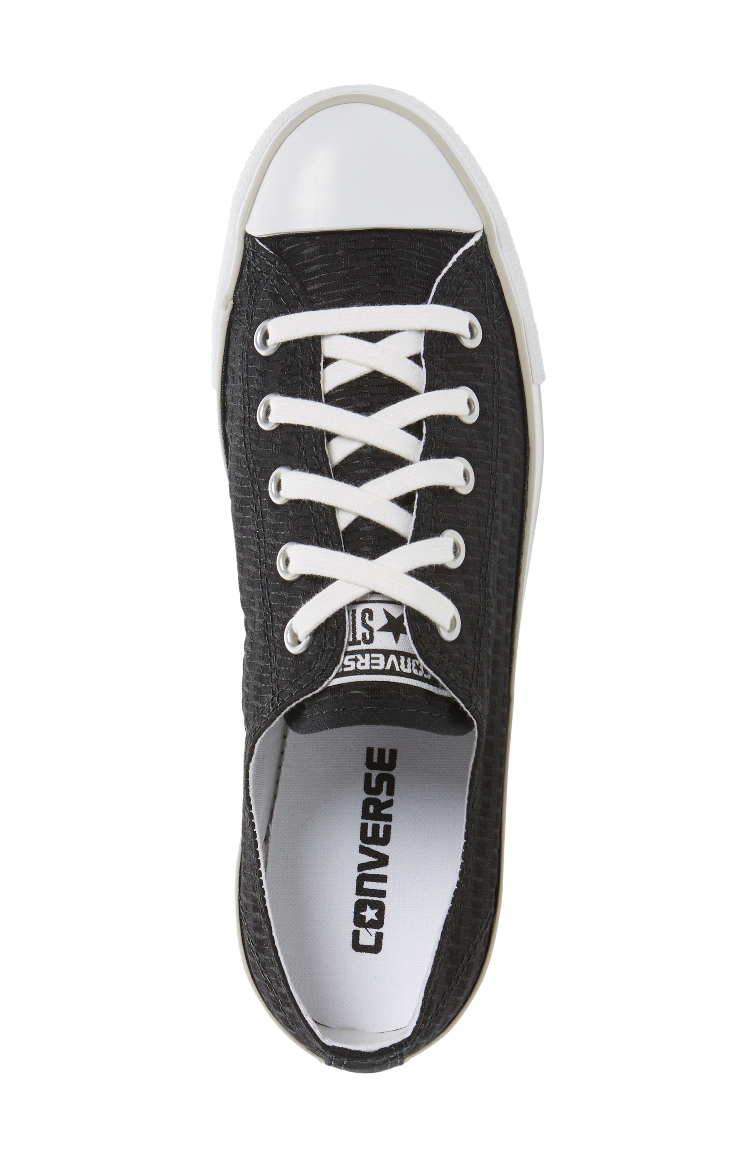 Alternate Image 3  - Chuck Taylor® All Star® Dainty Low Top Sneaker (Women)