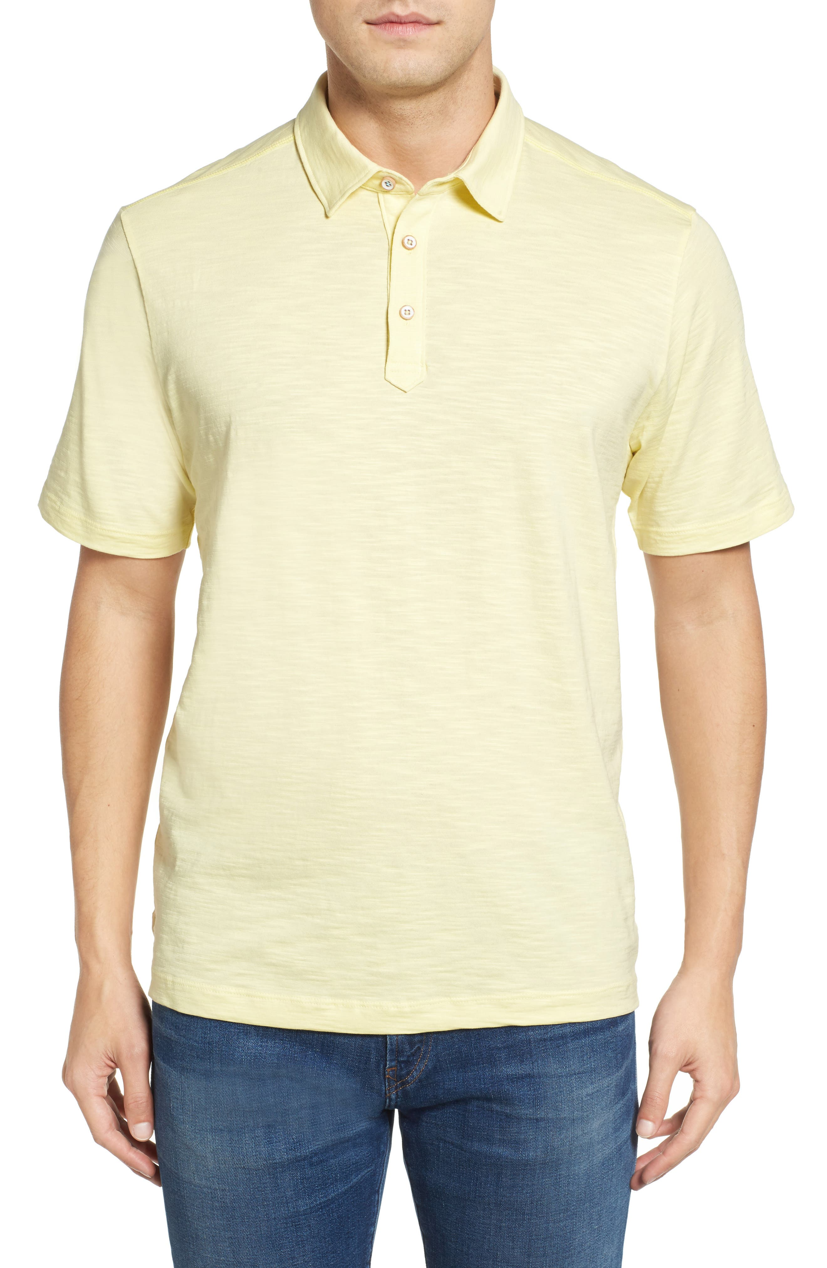 Tommy Bahama 'Portside Player Spectator' Regular Pima Cotton Polo