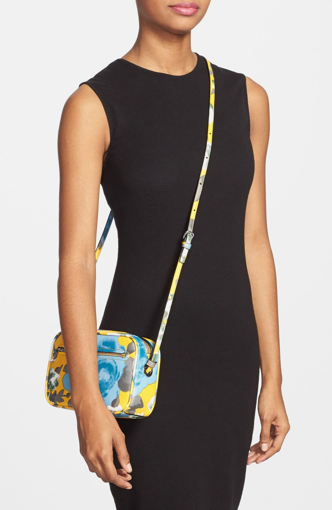 Alternate Image 2  - MARC BY MARC JACOBS 'Jerrie Rose - Sally' Flower Print Crossbody Bag