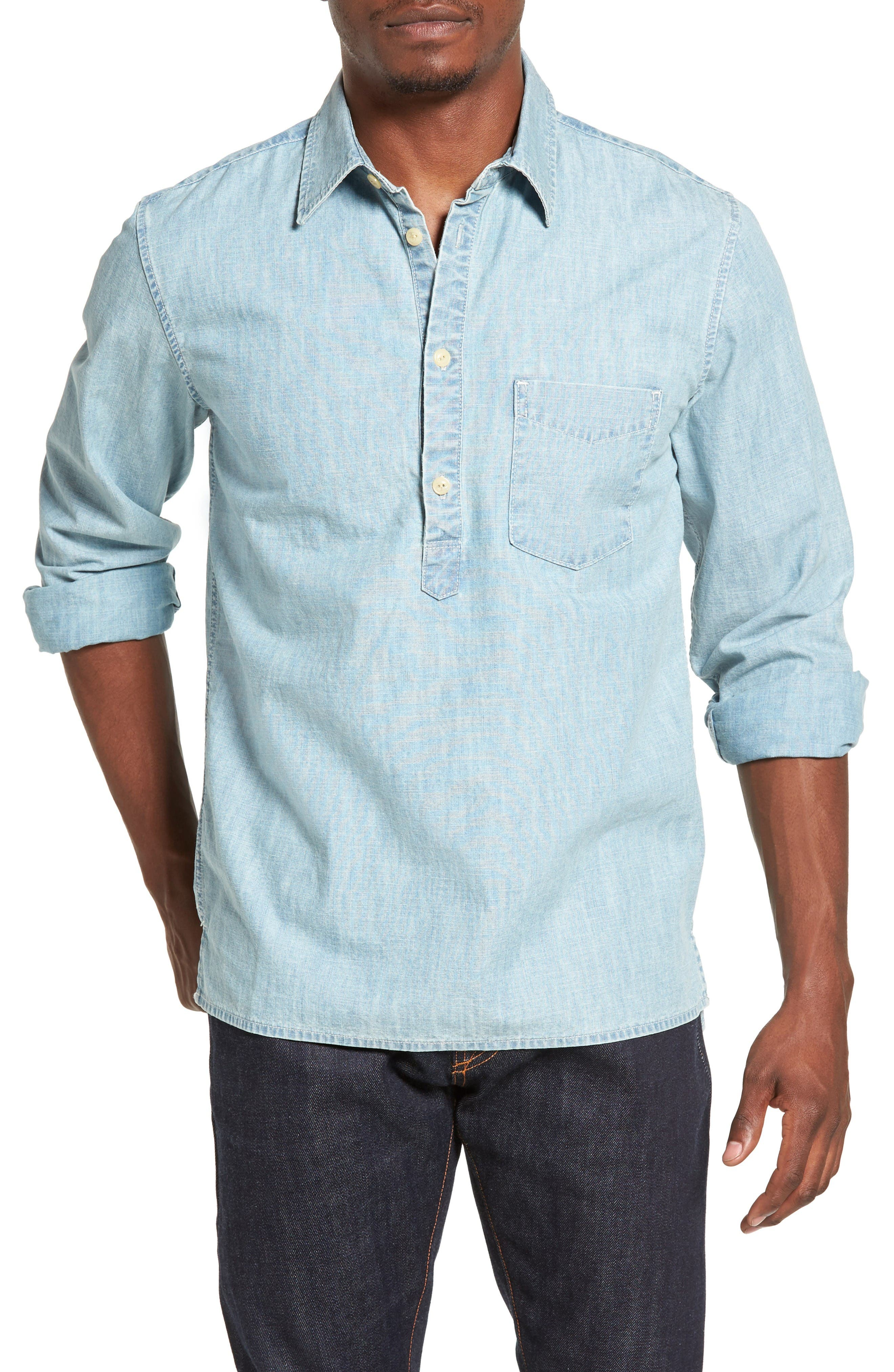 Jean Shop Ethan Chambray Shirt