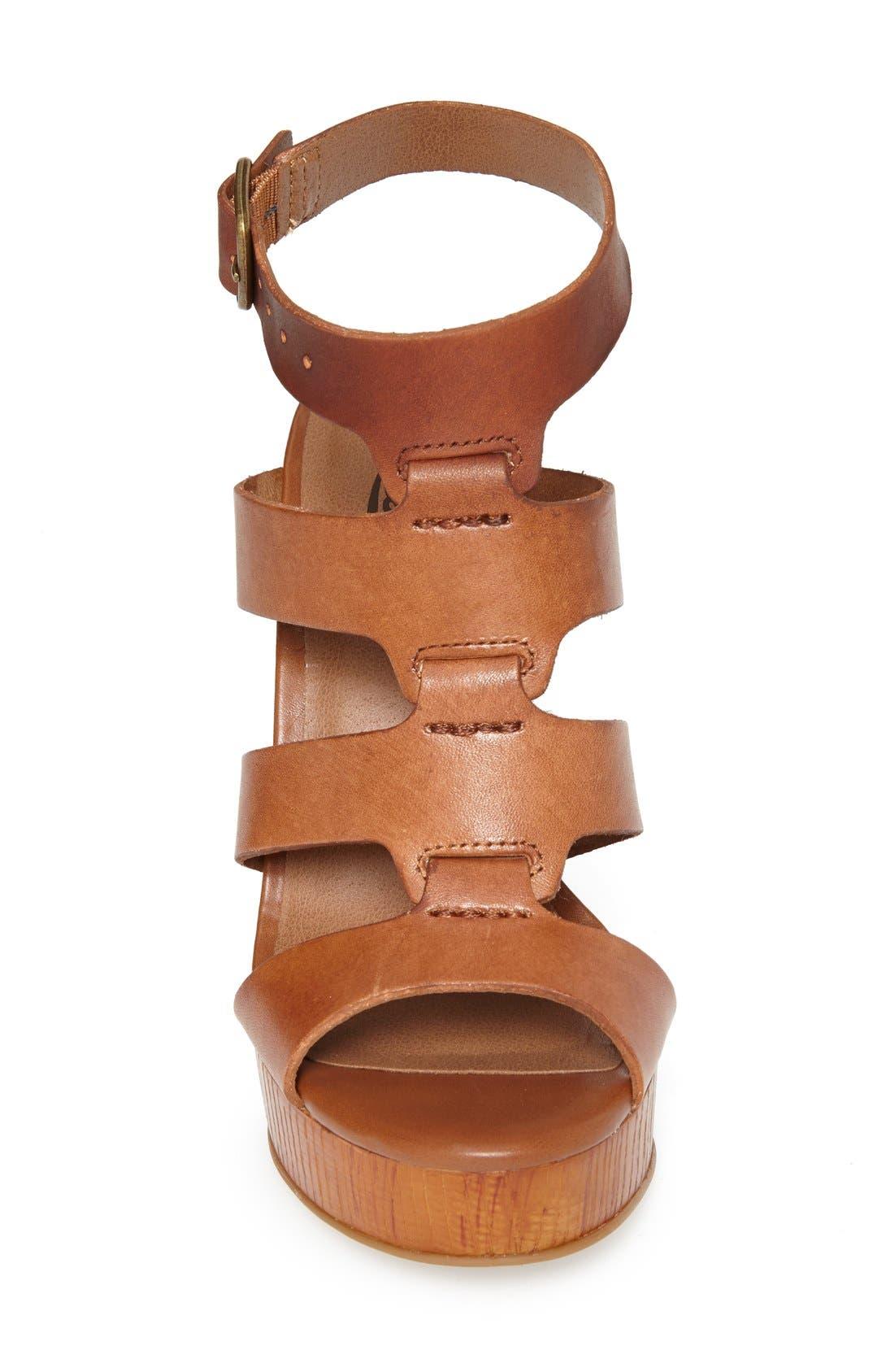 Alternate Image 3  - Lucky Brand 'Roselyn' Leather Caged Platform Sandal (Women)
