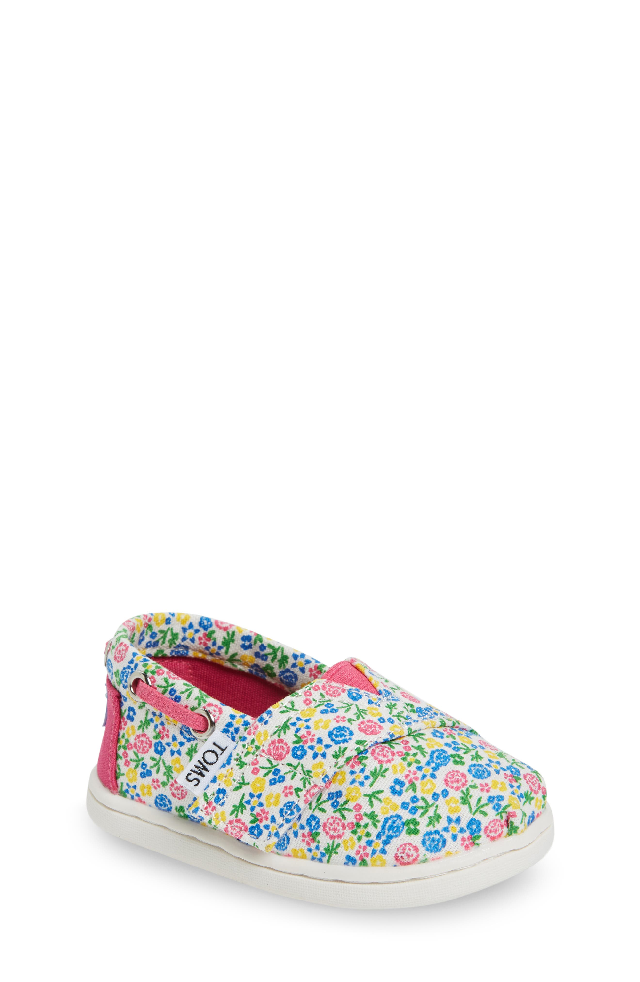 TOMS Bimini Slip-On (Baby, Walker & Toddler)