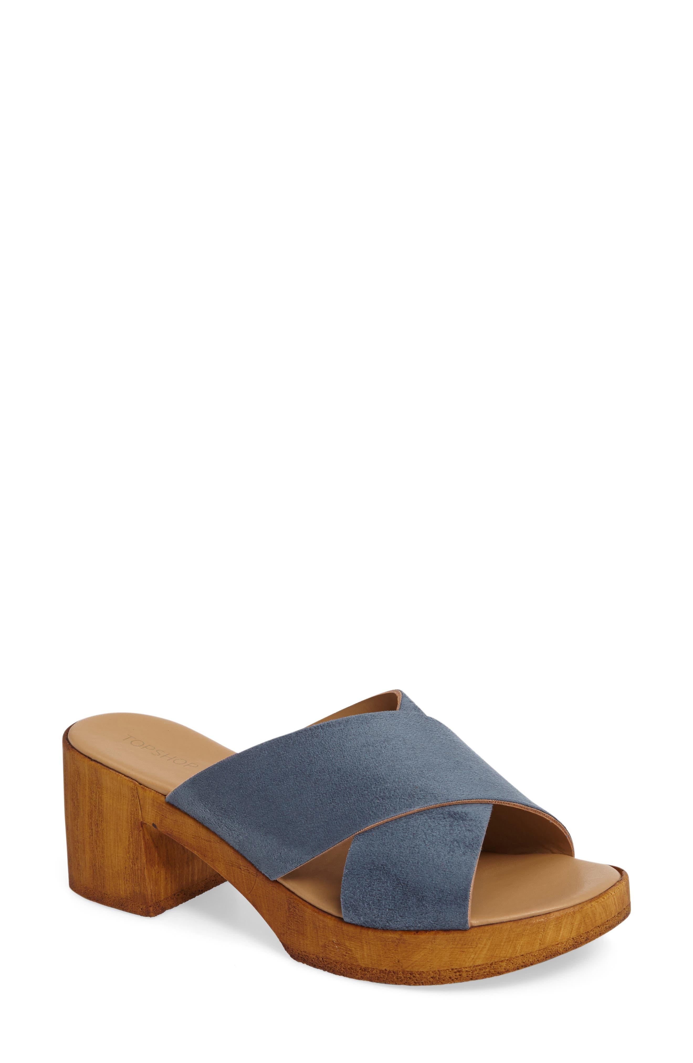 Topshop Dixy Clog Sandal (Women)