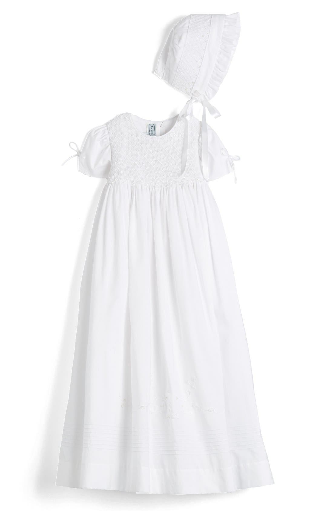 ISABEL GARRETON 'Pearls' Christening Gown & Bonnet