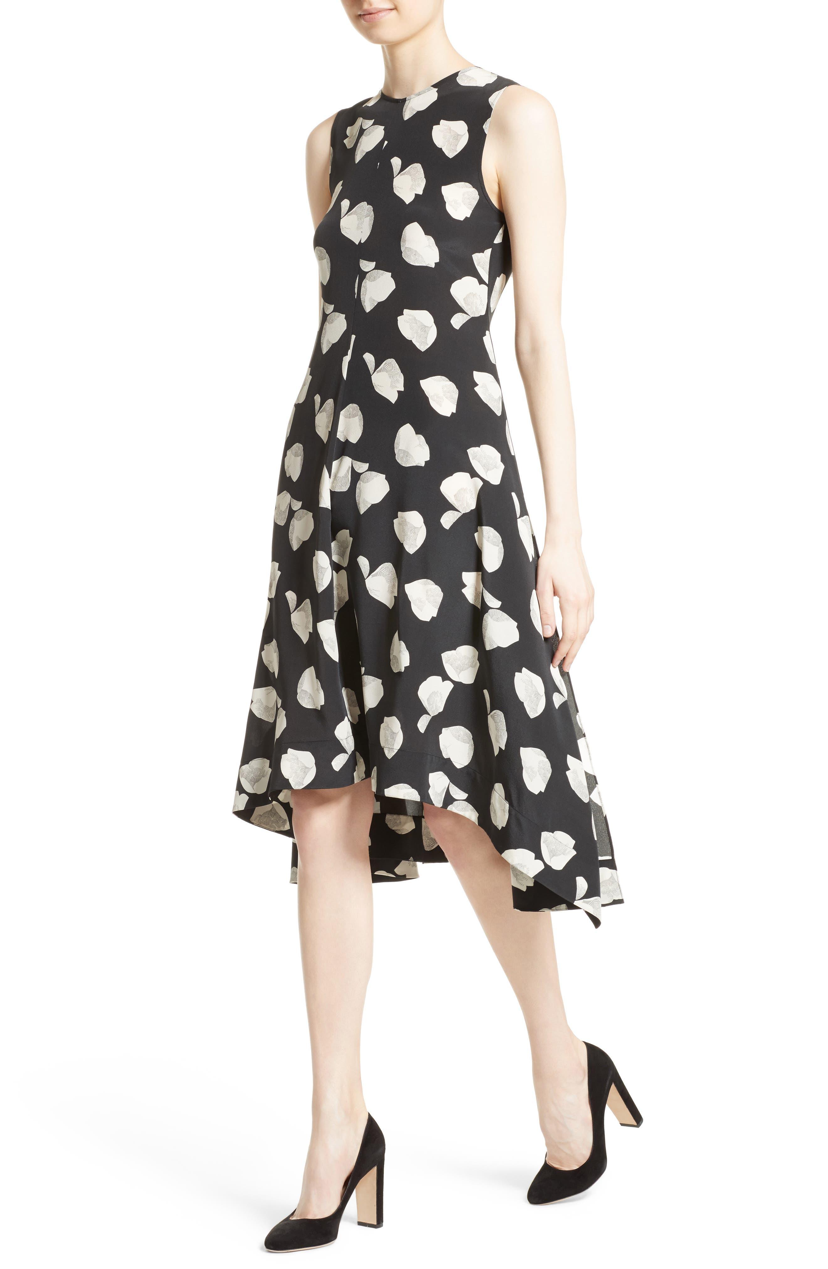 Alternate Image 4  - Theory Nophella B Harper Print Silk Dress