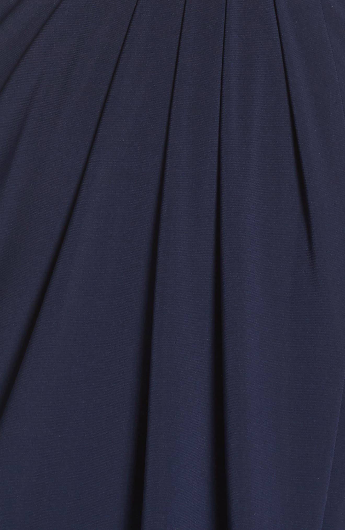 Alternate Image 6  - Xscape Off the Shoulder Beaded Gown (Regular & Petite)