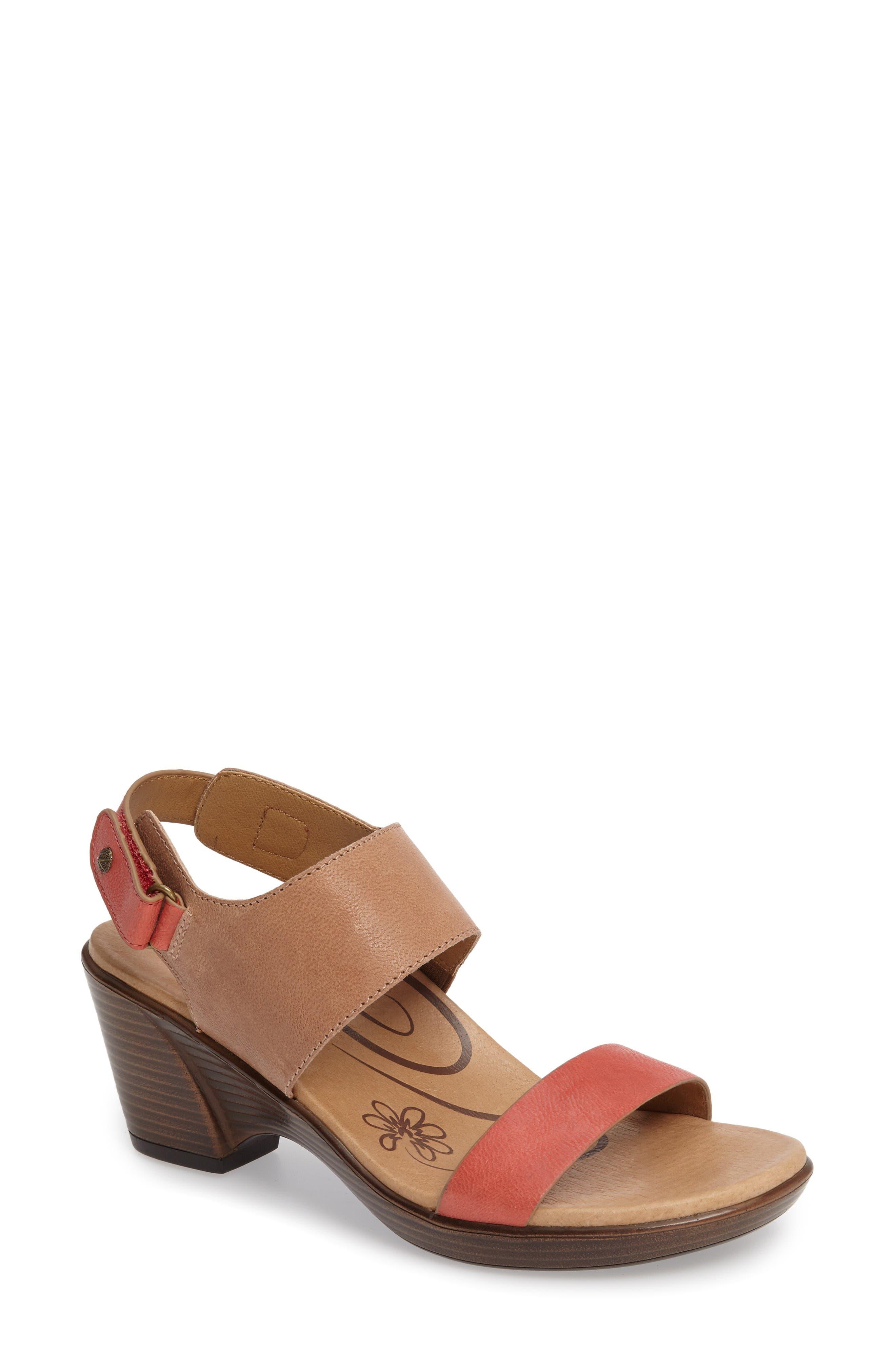 Aetrex 'Peyton' Slingback Sandal (Women)