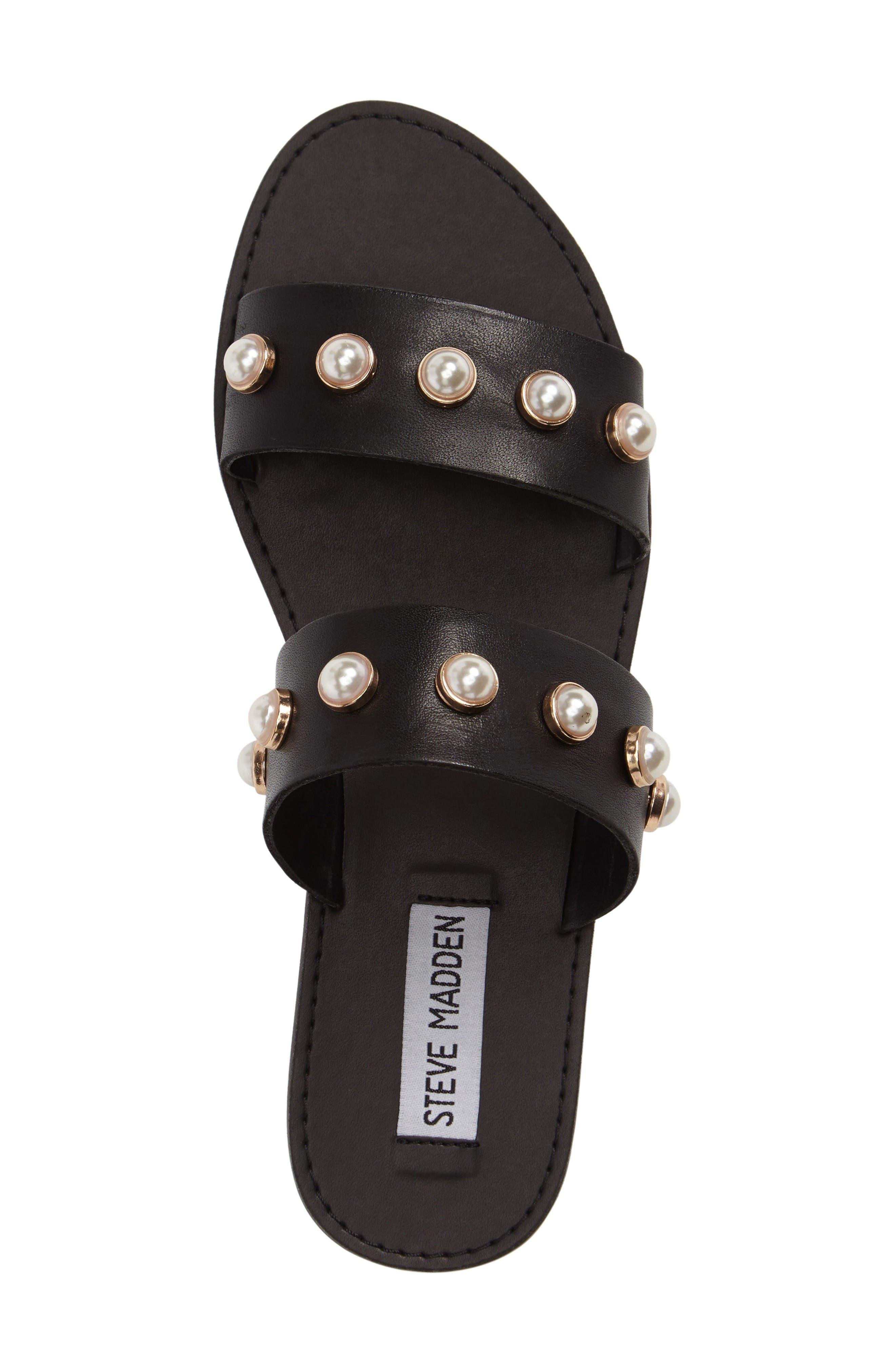 Alternate Image 5  - Steve Madden Jole Embellished Slide Sandal (Women)