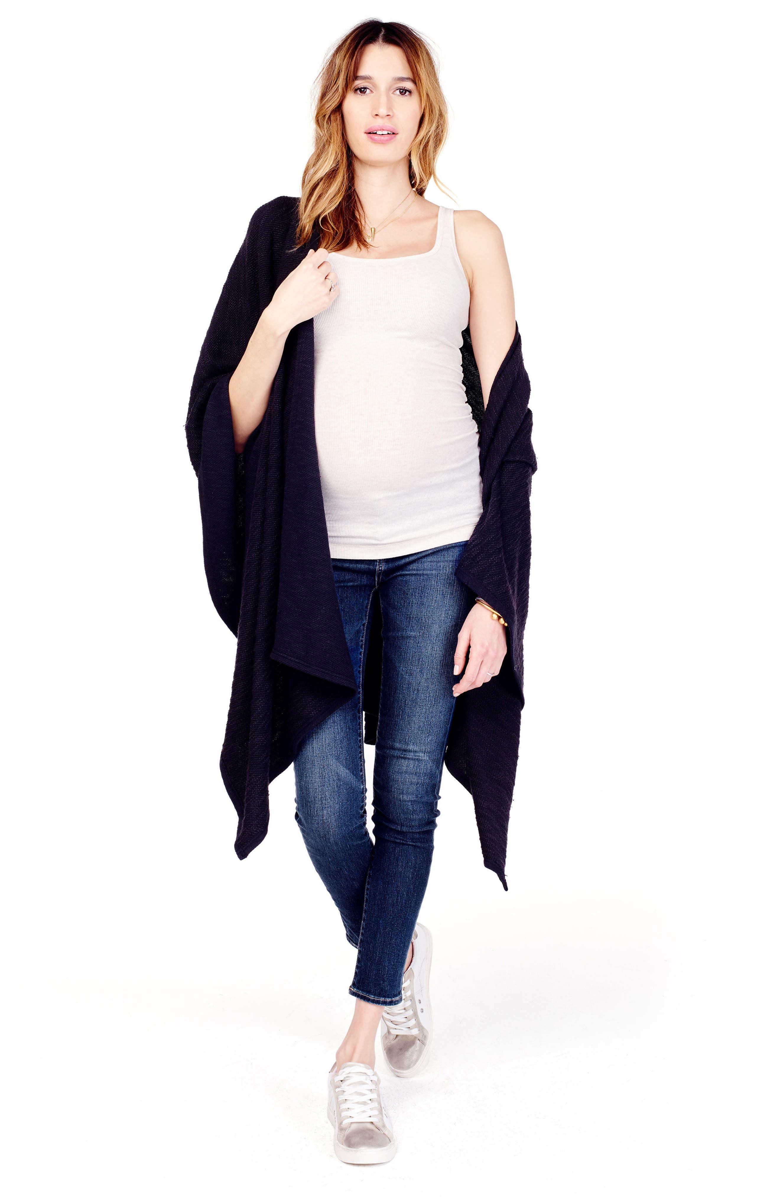 Alternate Image 2  - Ingrid & Isabel® 'Cozy' Maternity & Nursing Wrap