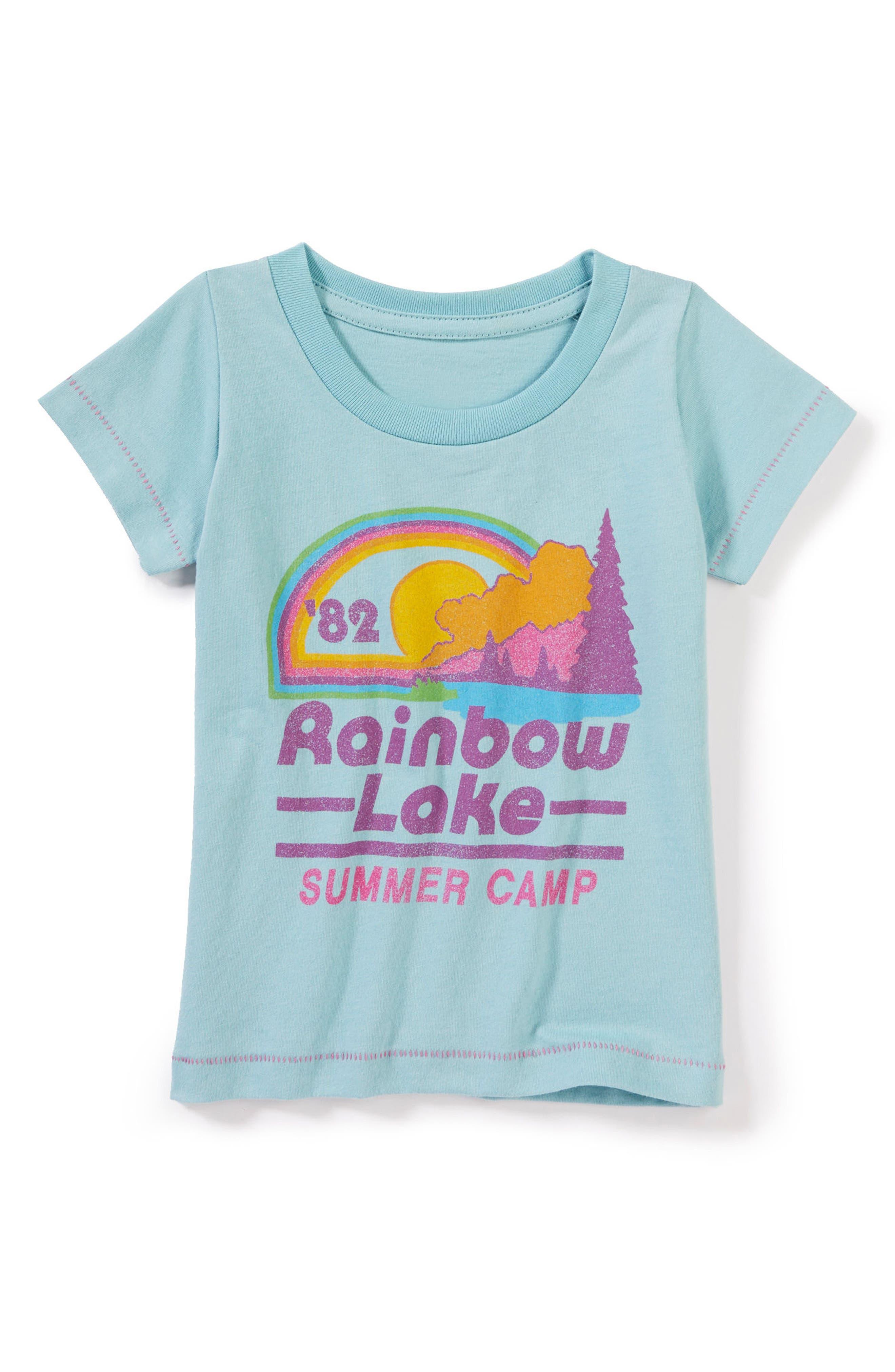Peek Rainbow Lake Graphic Tee (Baby Girls)
