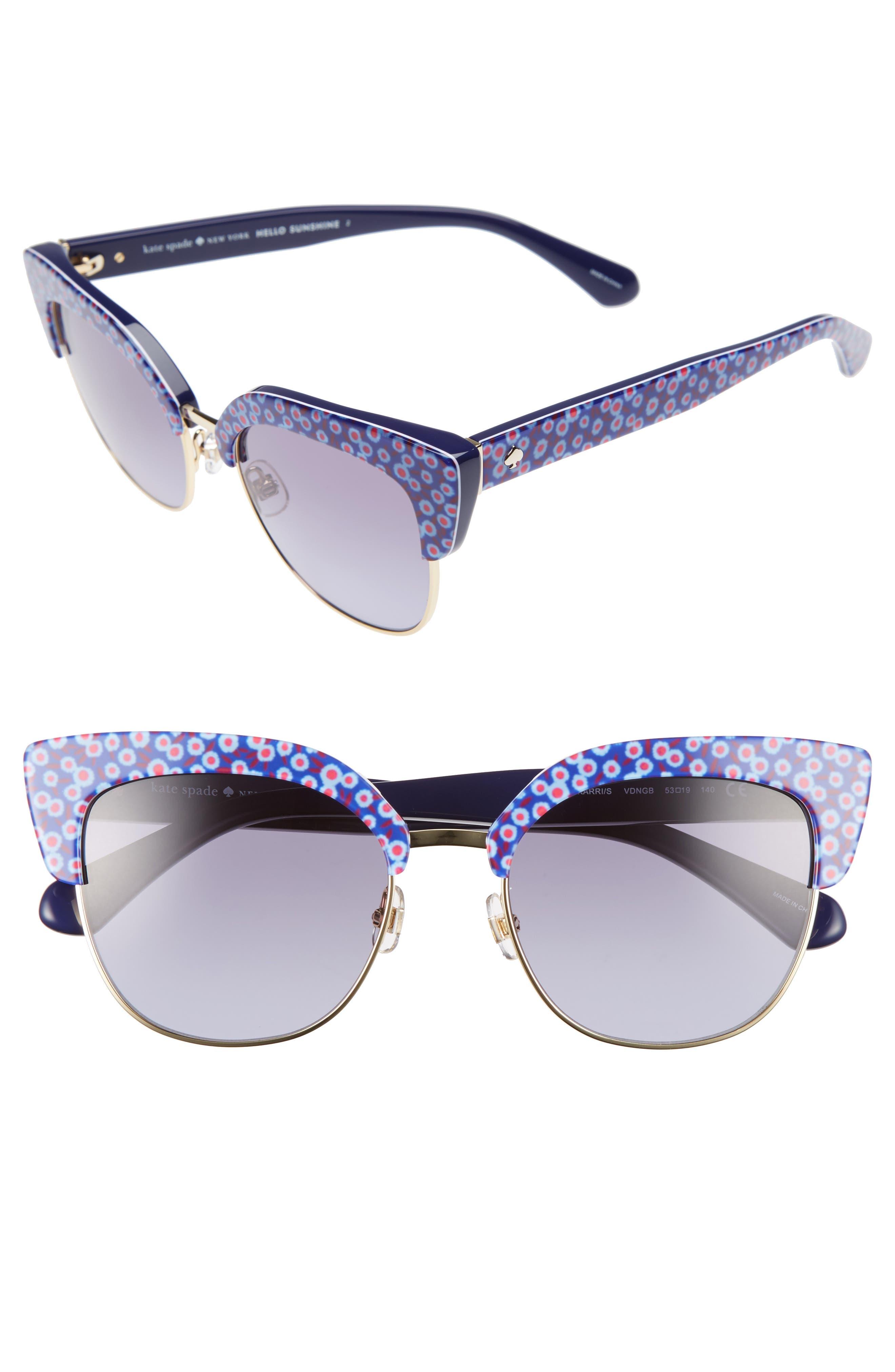 kate spade new york karri 53mm sunglasses