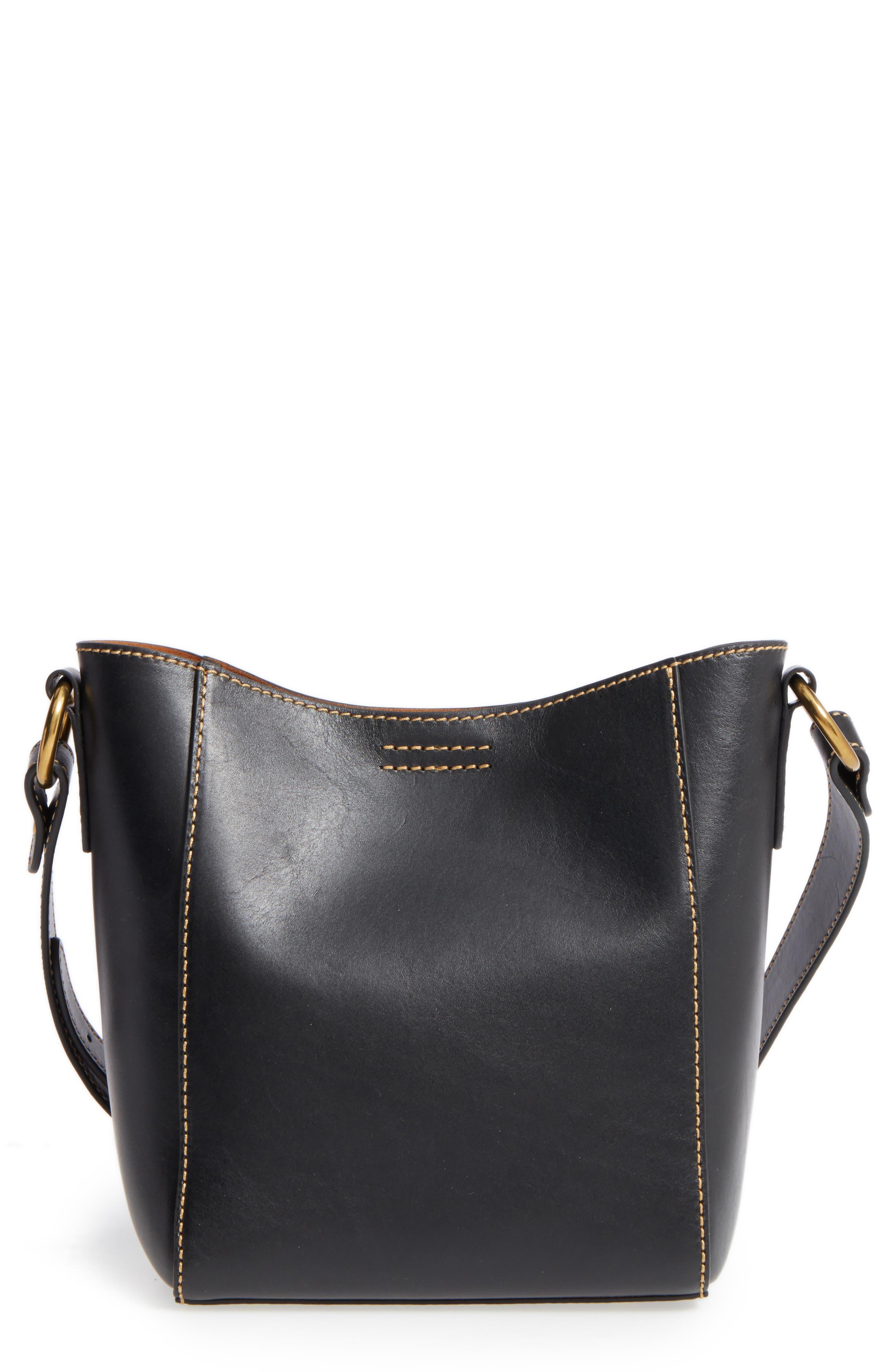Frye Leather Bucket Bag