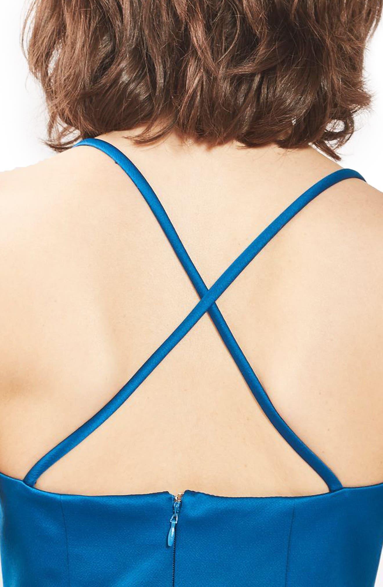 Alternate Image 5  - Topshop Fit & Flare Minidress