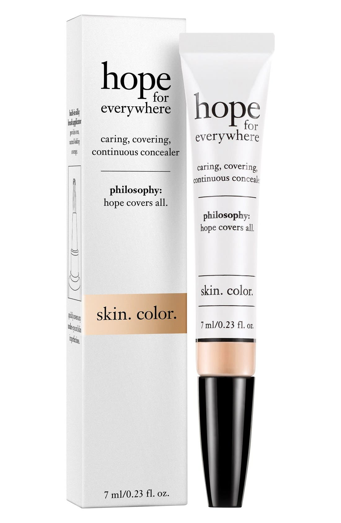 philosophy 'hope for everywhere' concealer