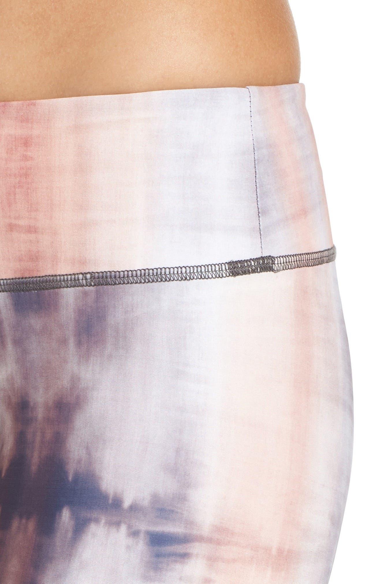 Alternate Image 4  - Onzie Graphic Print Capri Leggings