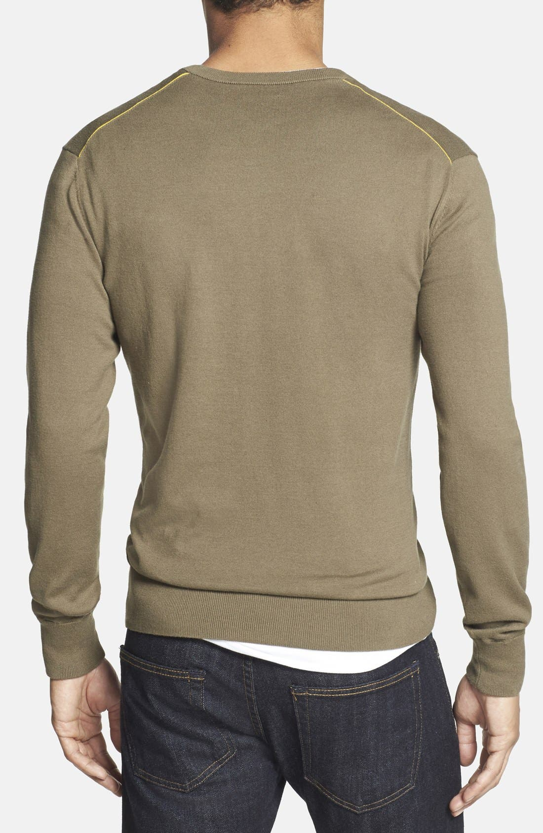 Alternate Image 2  - Victorinox Swiss Army® 'Signature' Tailored Fit V-Neck Sweater (Online Only)