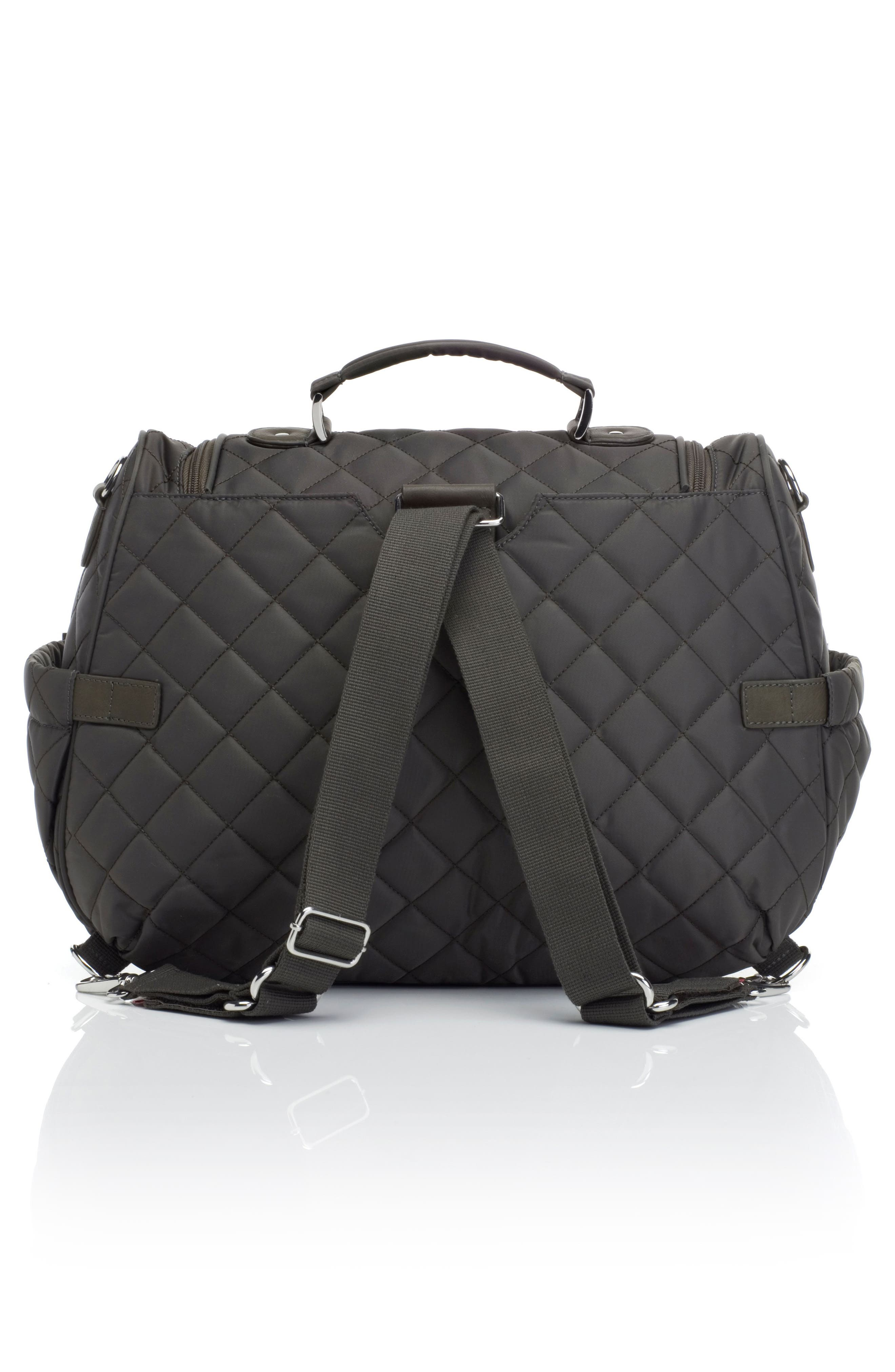 Alternate Image 2  - Storksak Poppy Convertible Diaper Bag