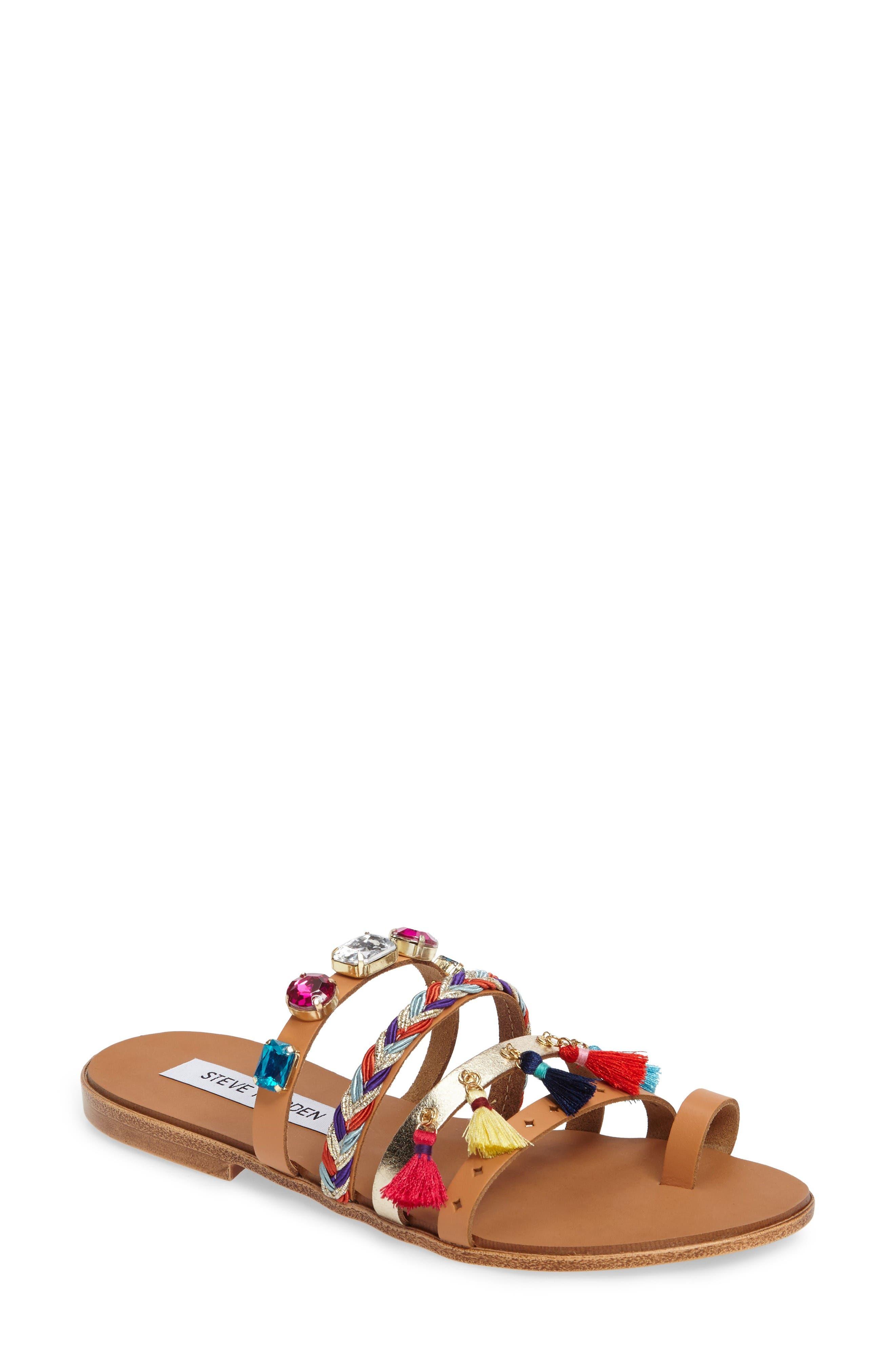 Alternate Image 1 Selected - Steve Madden Cary Embellished Sandal (Women)