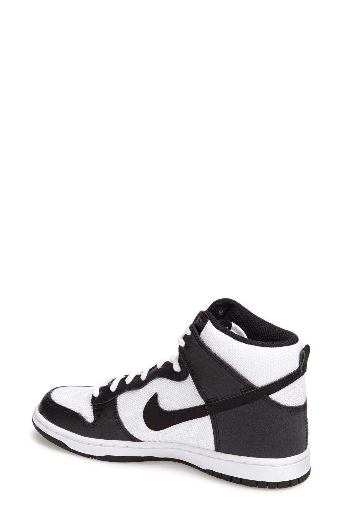 Alternate Image 2  - Nike 'Dunk High Skinny' Sneaker (Women)