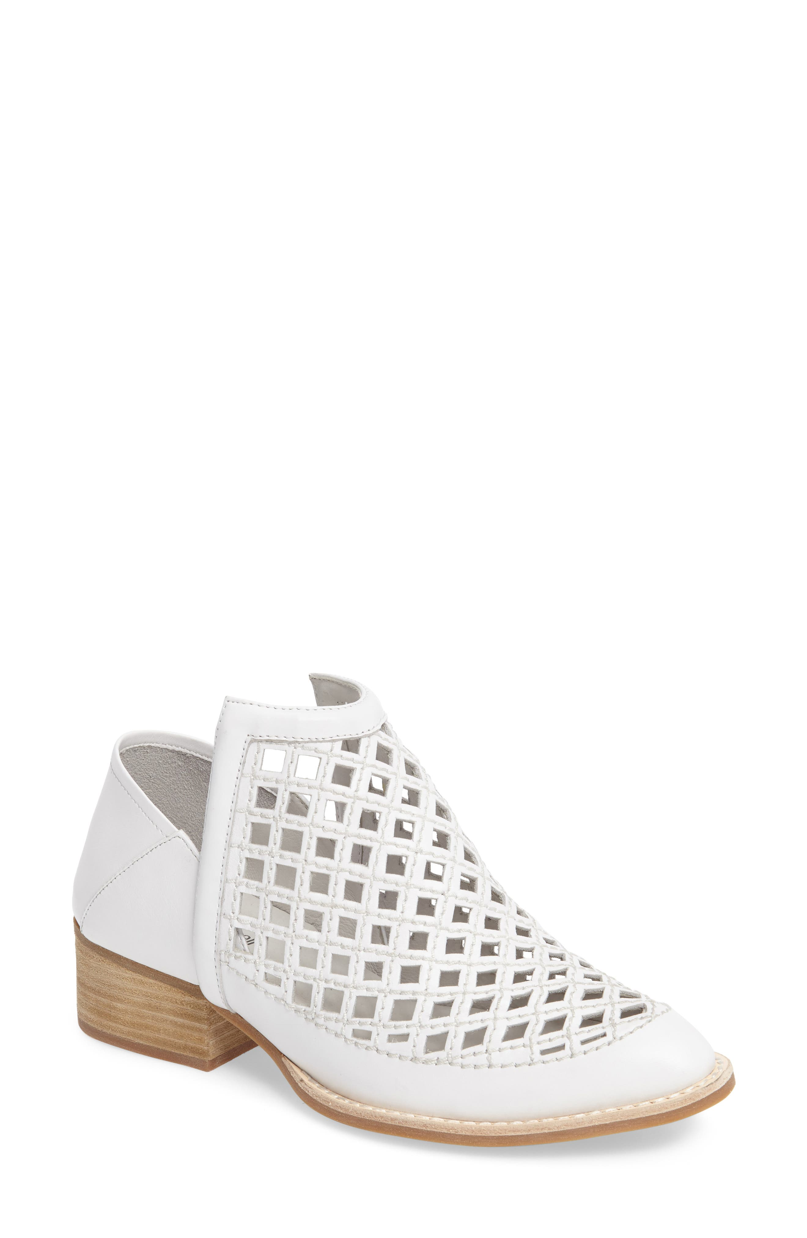 Jeffrey Campbell Tagline Perforated Bootie (Women)