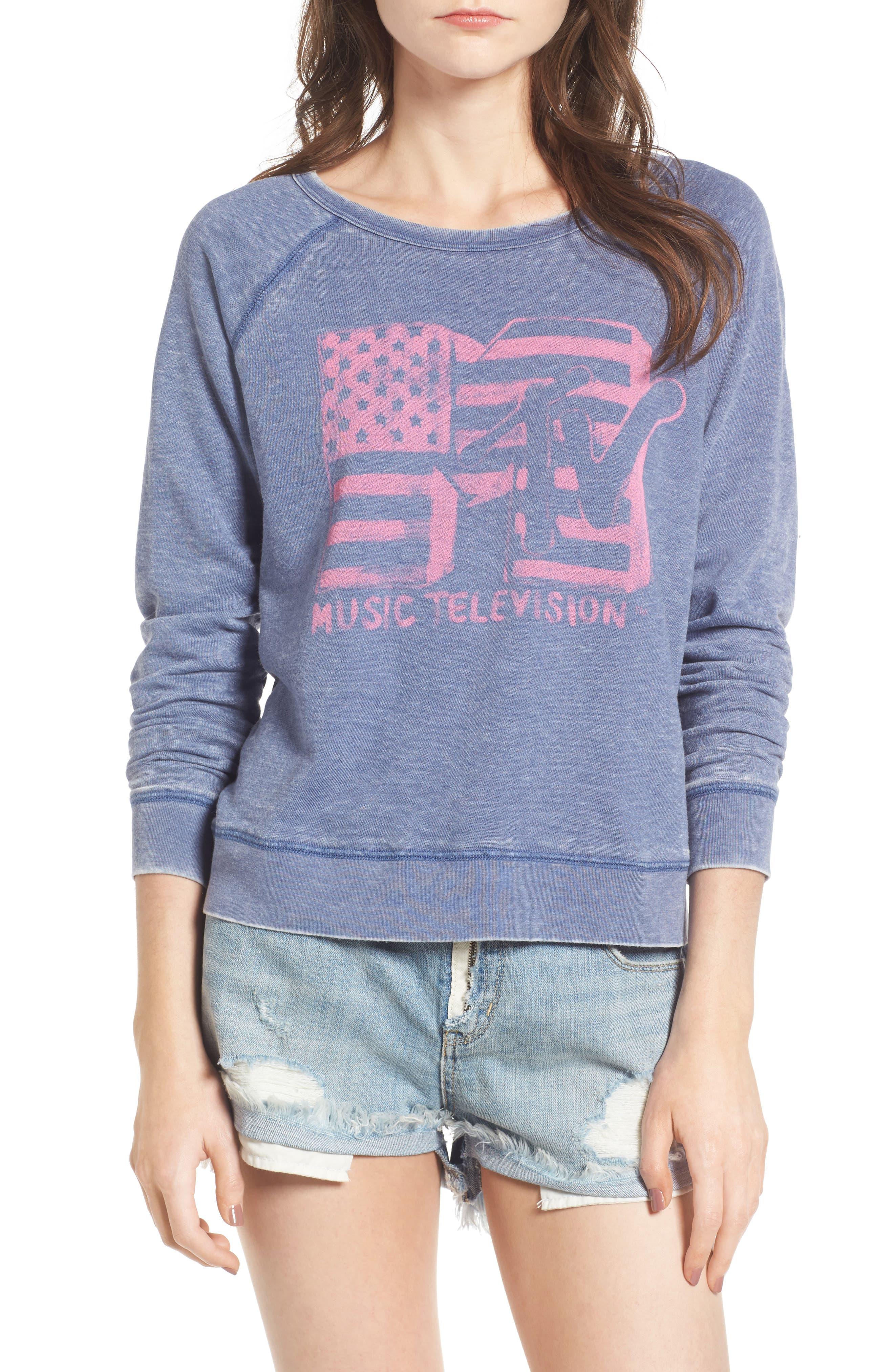 Junk Food MTV Sweatshirt