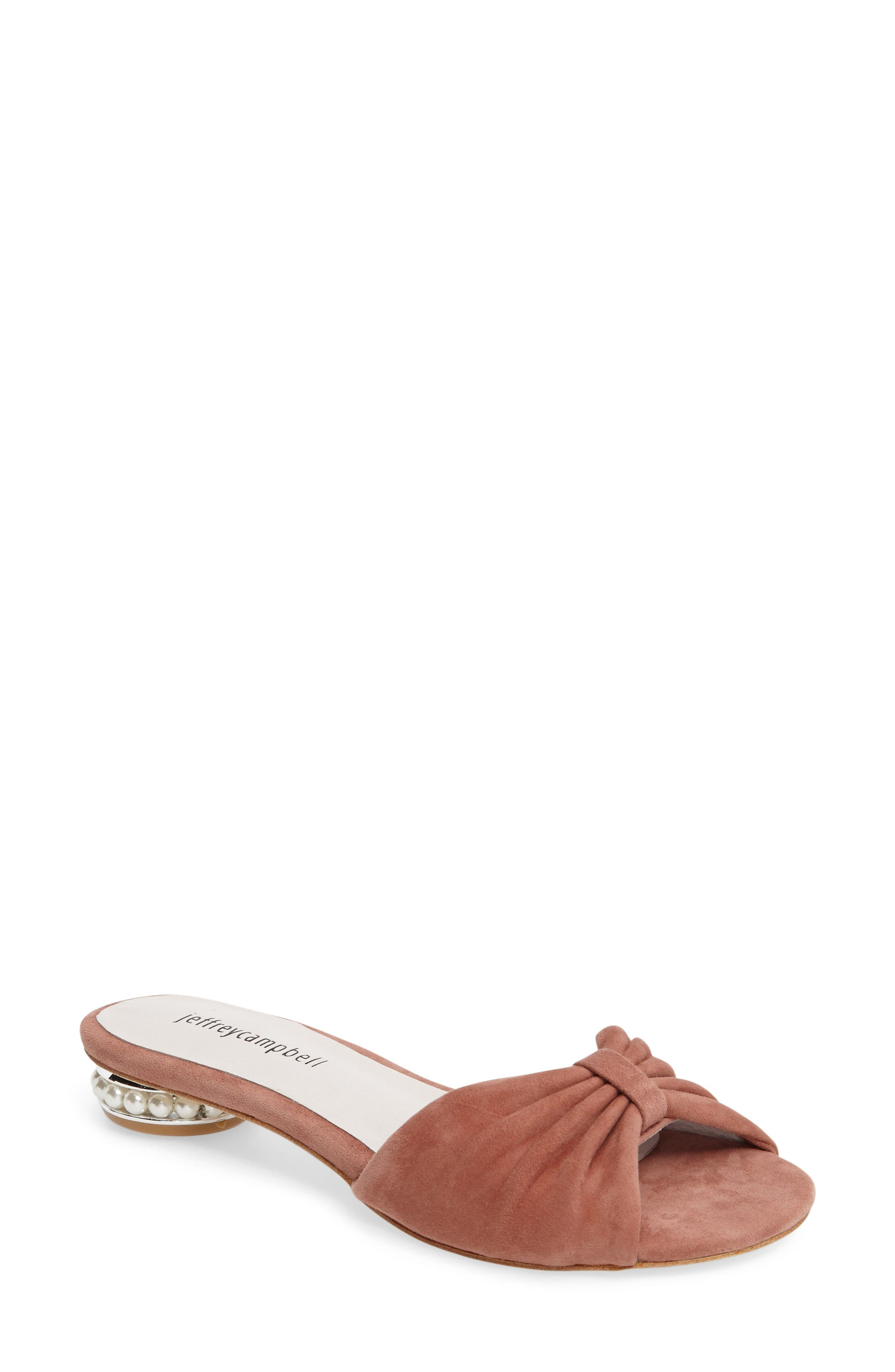 Main Image - Jeffrey Campbell Turbina Embellished Slide Sandal (Women)