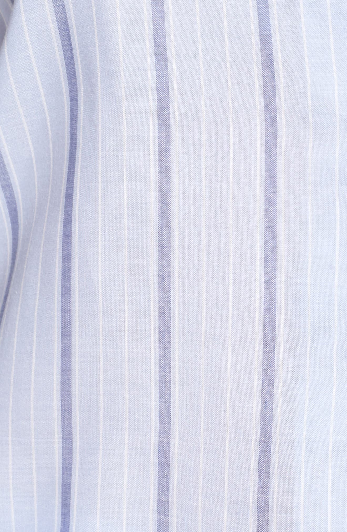 Alternate Image 5  - Nordstrom Lingerie Stripe Short Pajamas