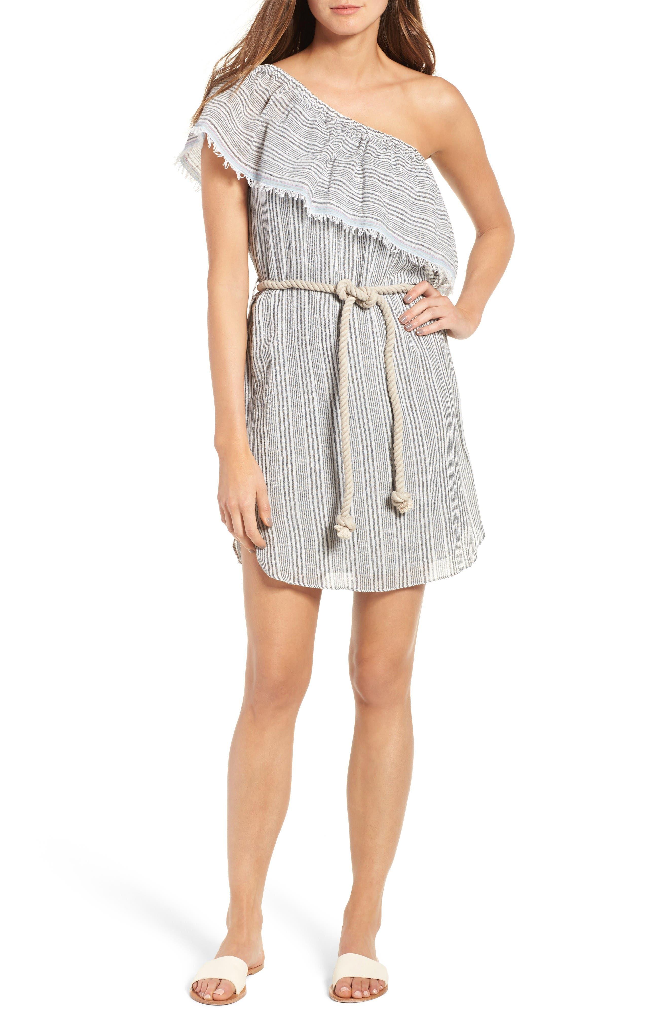 Bailey 44 Agadir Cotton One-Shoulder Dress