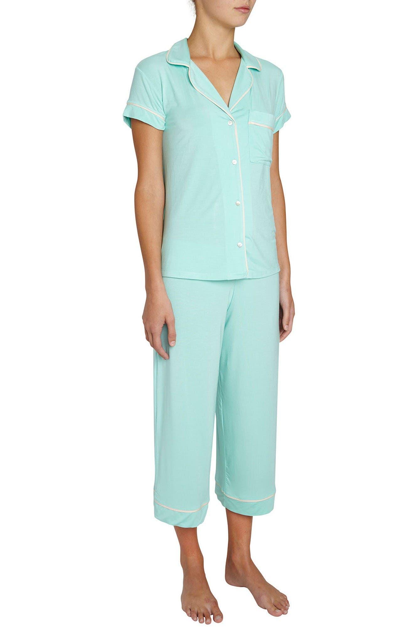 Eberjey Gisele Crop Pajamas