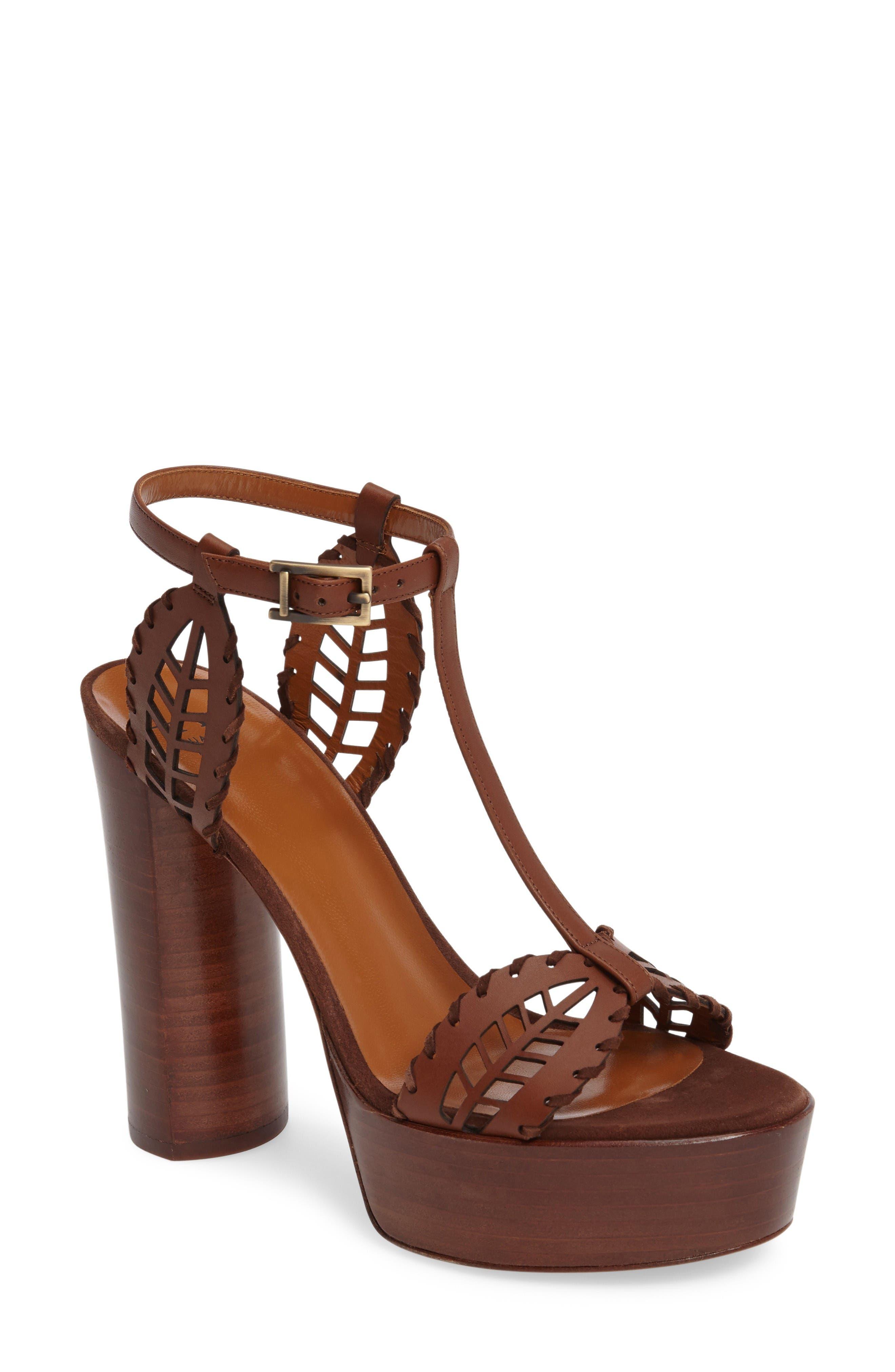 Alternate Image 1 Selected - Aquatalia Isadora T-Strap Platform Sandal (Women)