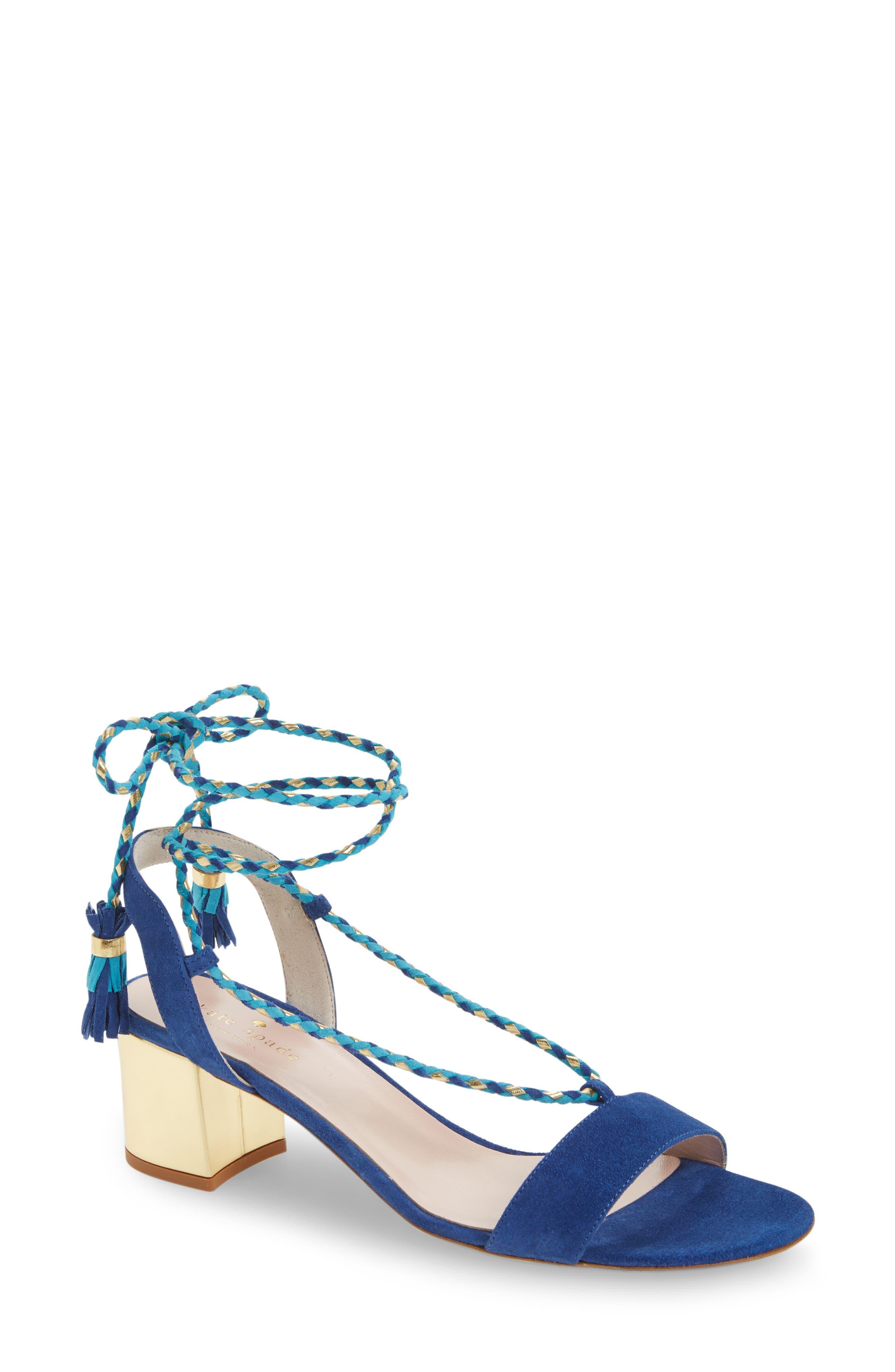 kate spade new york manor lace-up sandal (Women)