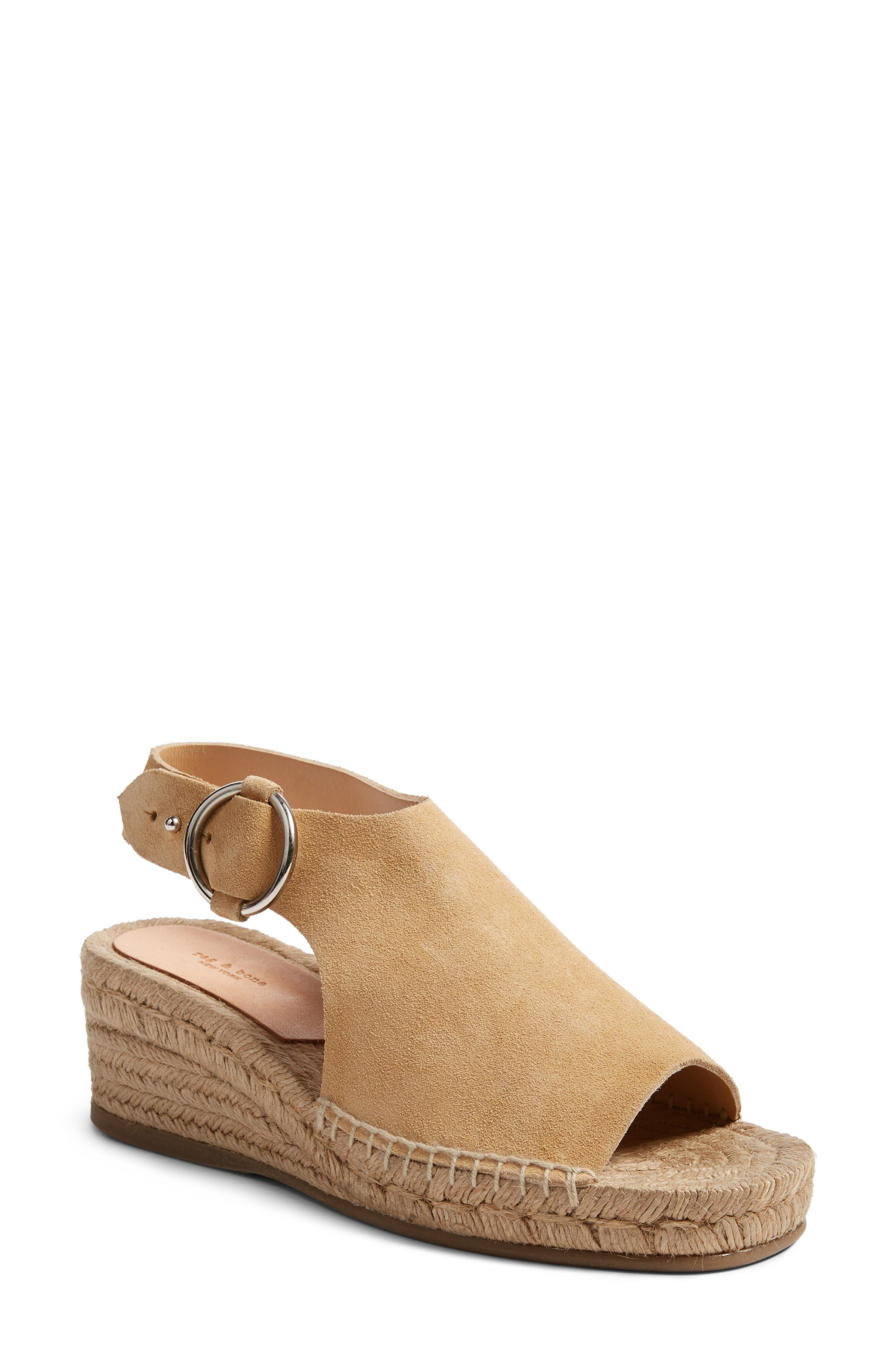 Alternate Image 1 Selected - rag & bone Calla Espadrille Wedge (Women)