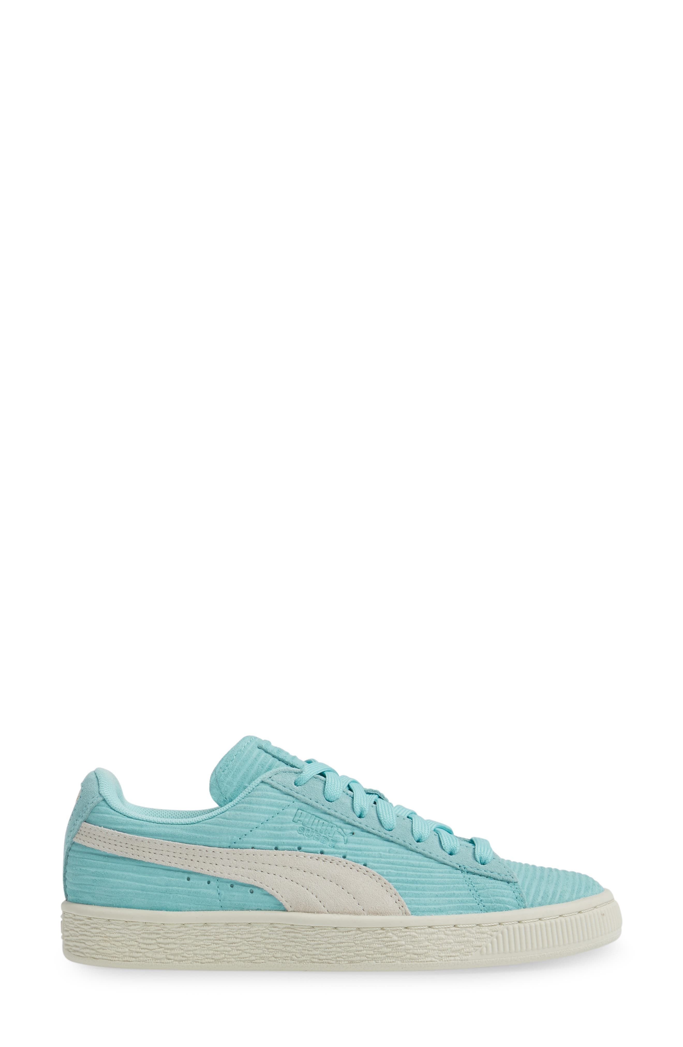 Alternate Image 3  - PUMA Suede Classic Embossed Sneaker (Women)