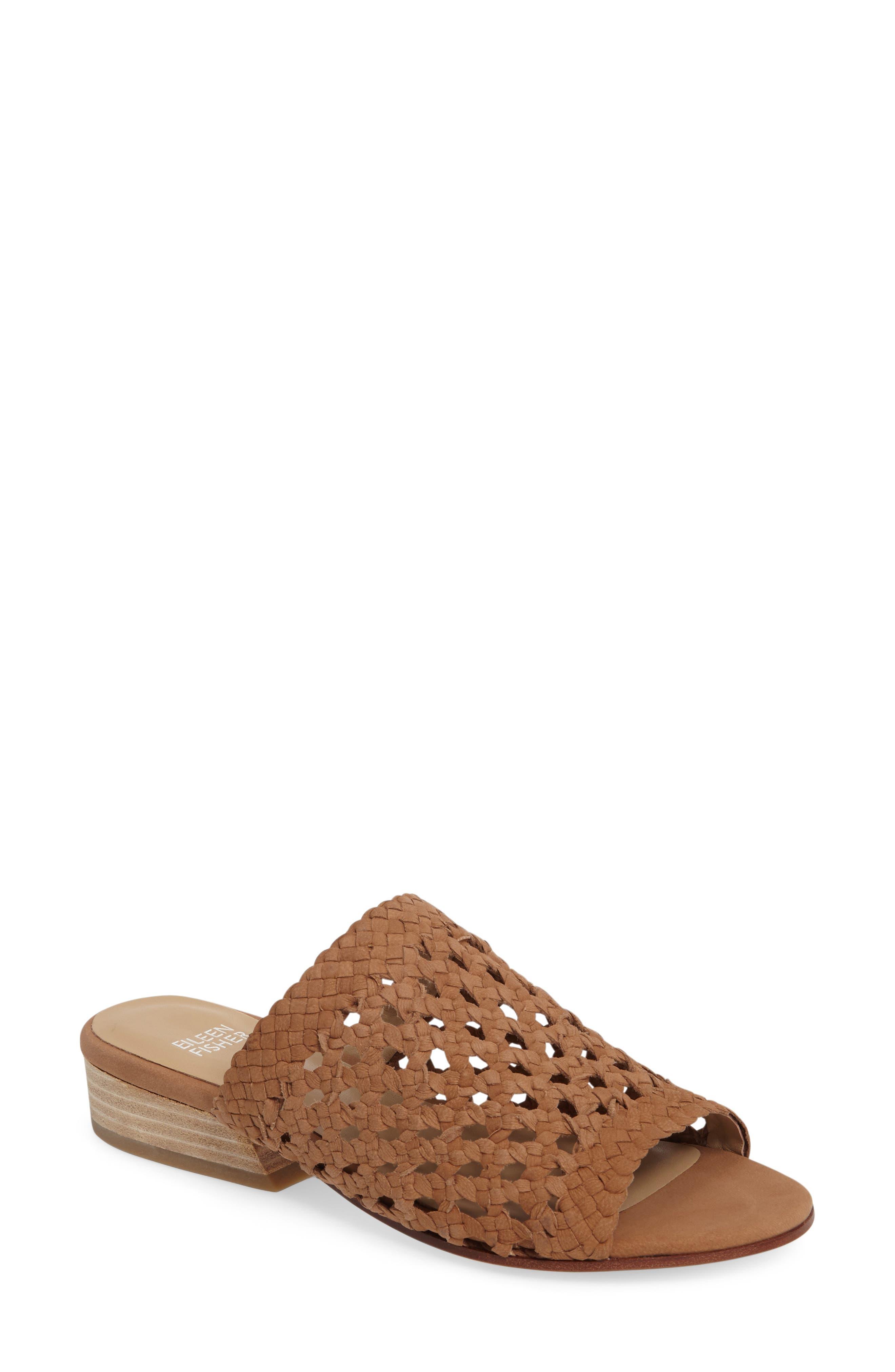 Eileen Fisher Aloe Slide Sandal (Women)