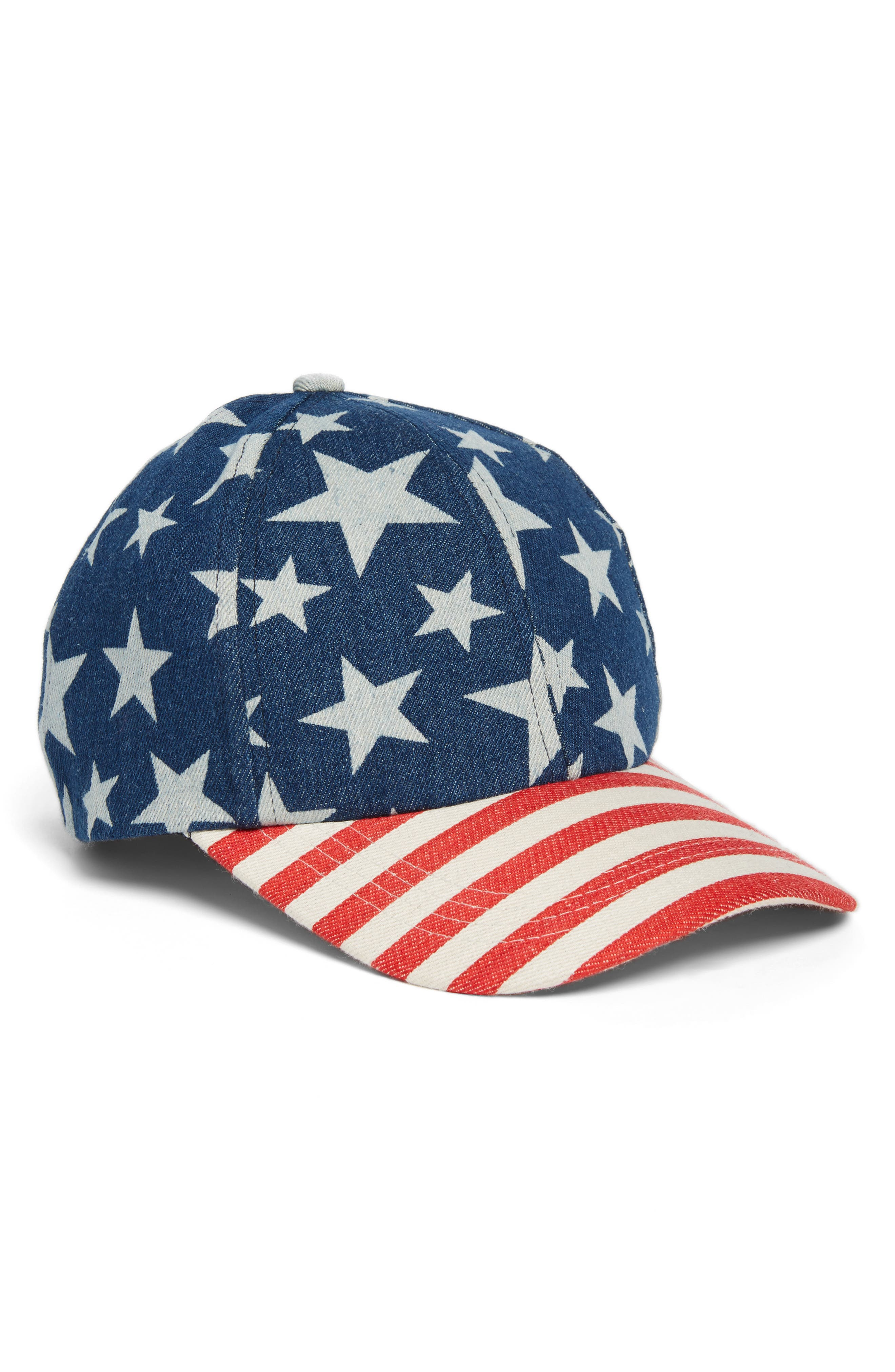 Collection XIIX Denim Flag Baseball Cap
