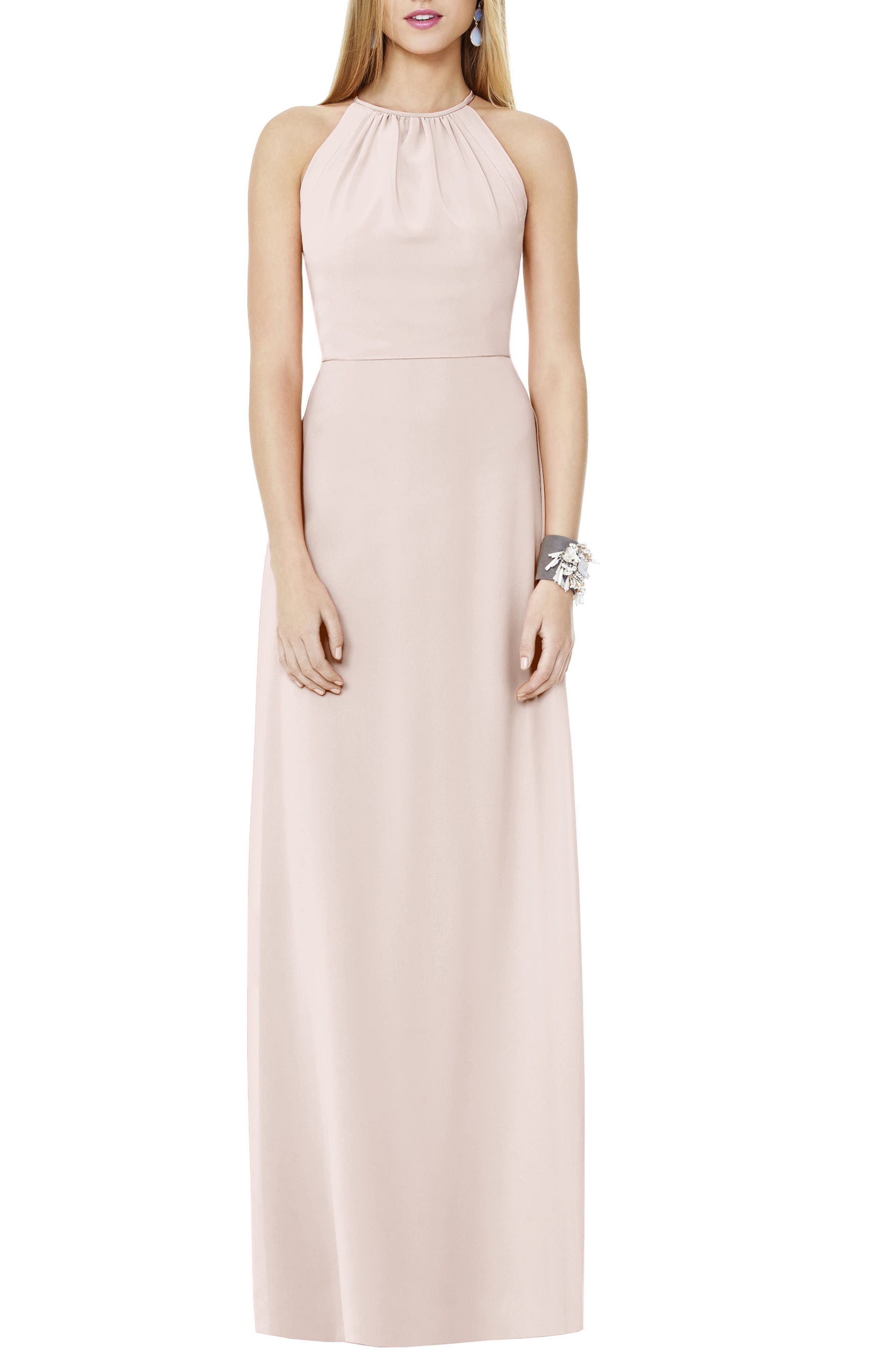 Alternate Image 1 Selected - Social Bridesmaids Matte Chiffon Gown