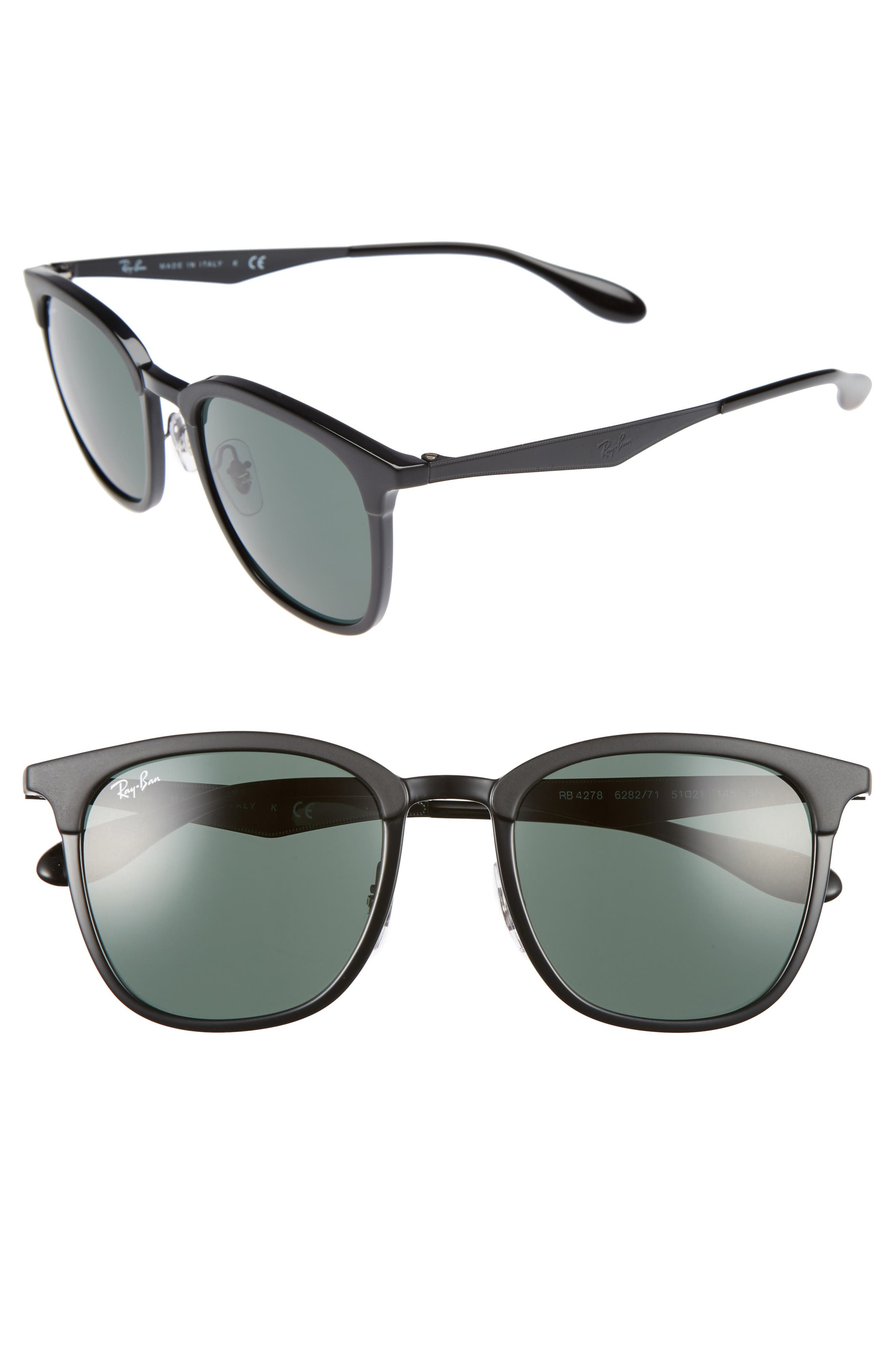 Ray-Ban Highstreet 51mm Square Sunglasses
