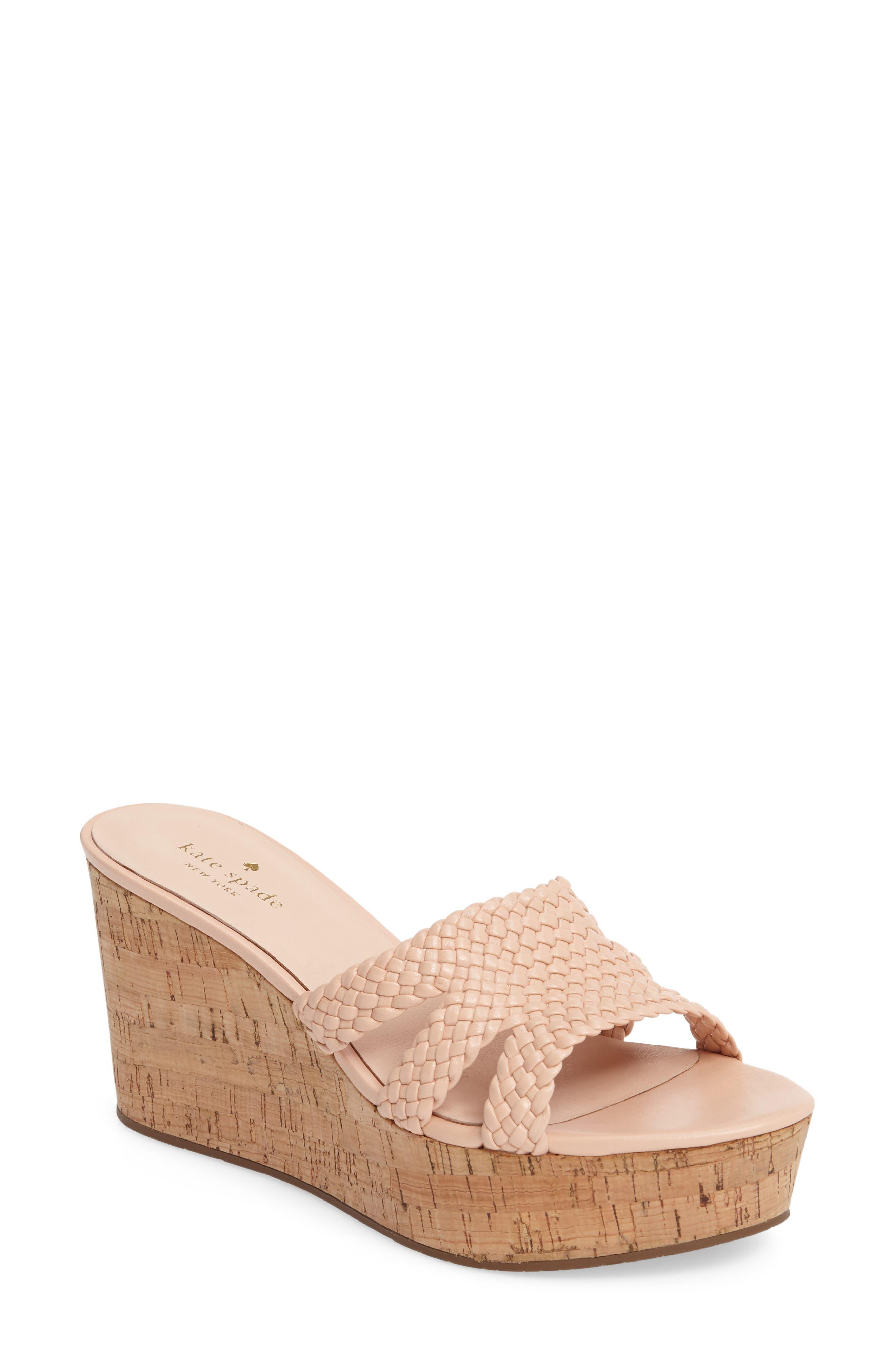 kate spade new york tarvela wedge sandal (Women)