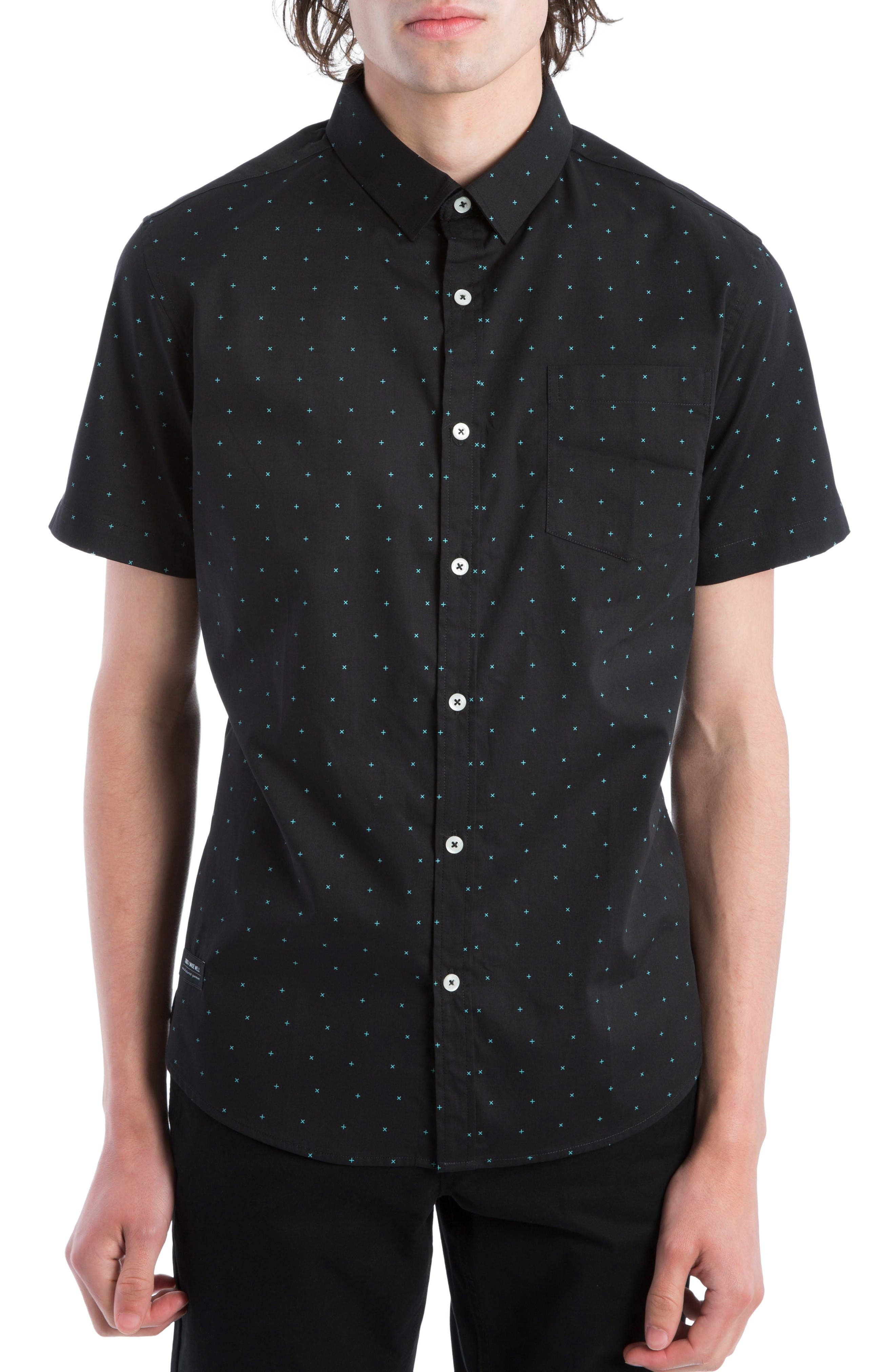 7 Diamonds Beachwood Canyon Woven Shirt