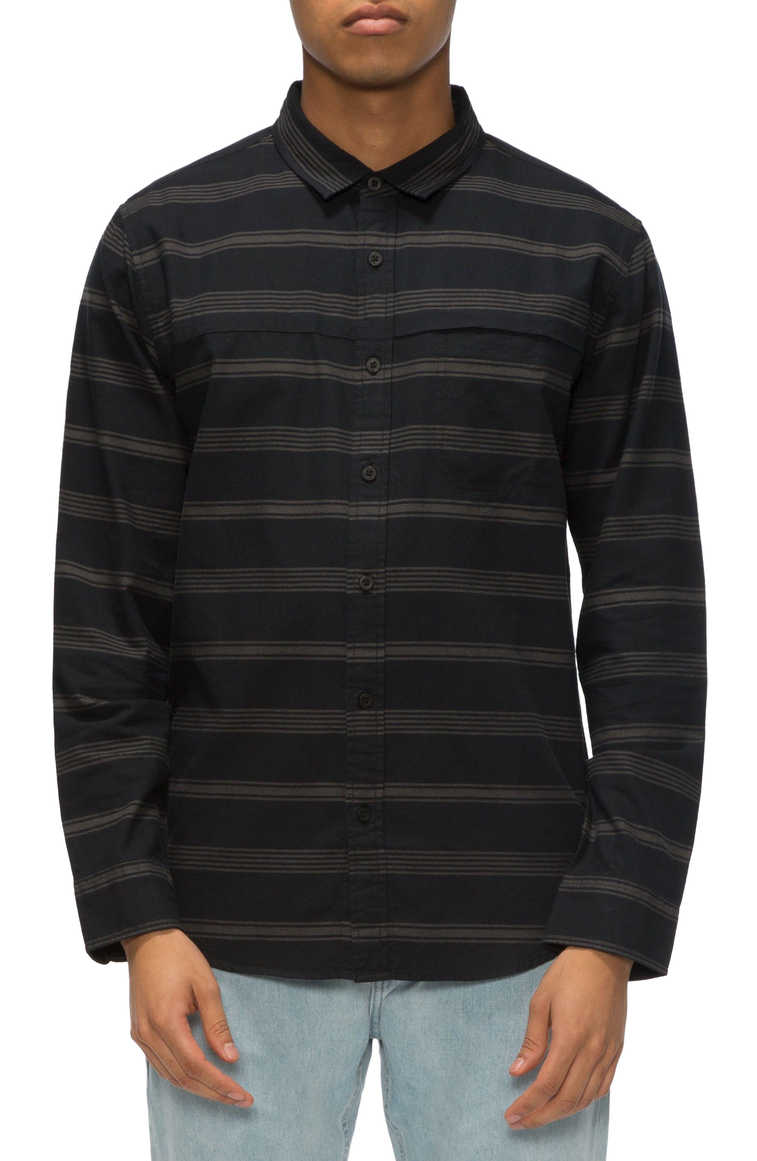 TAVIK Shin Stripe Sport Shirt