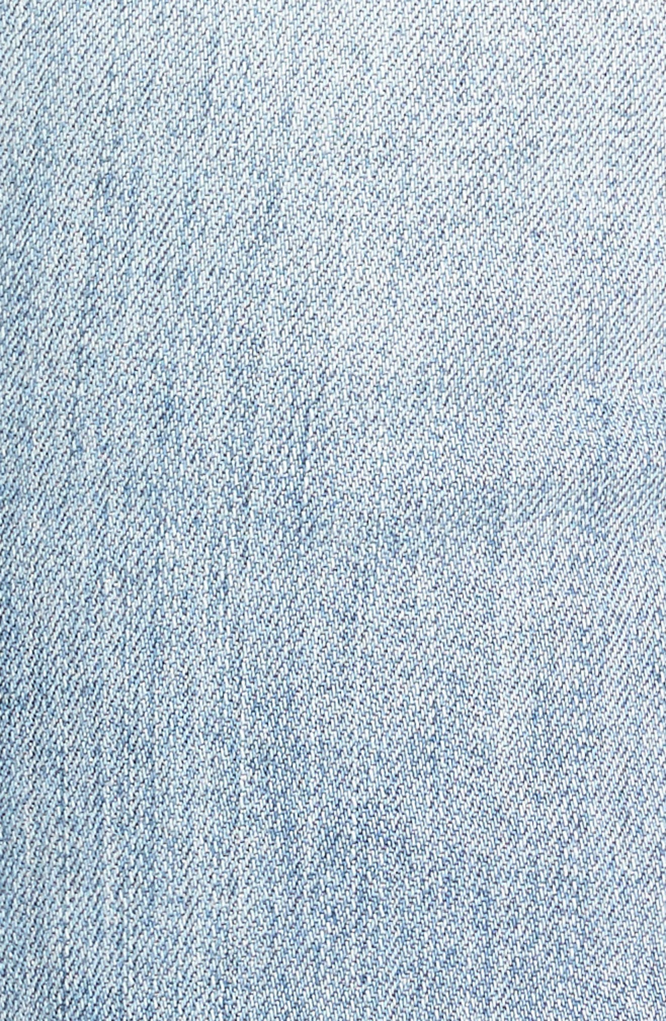 Alternate Image 6  - KUT from the Kloth Embroidered Straight Leg Jeans (Excellency) (Regular & Petite)