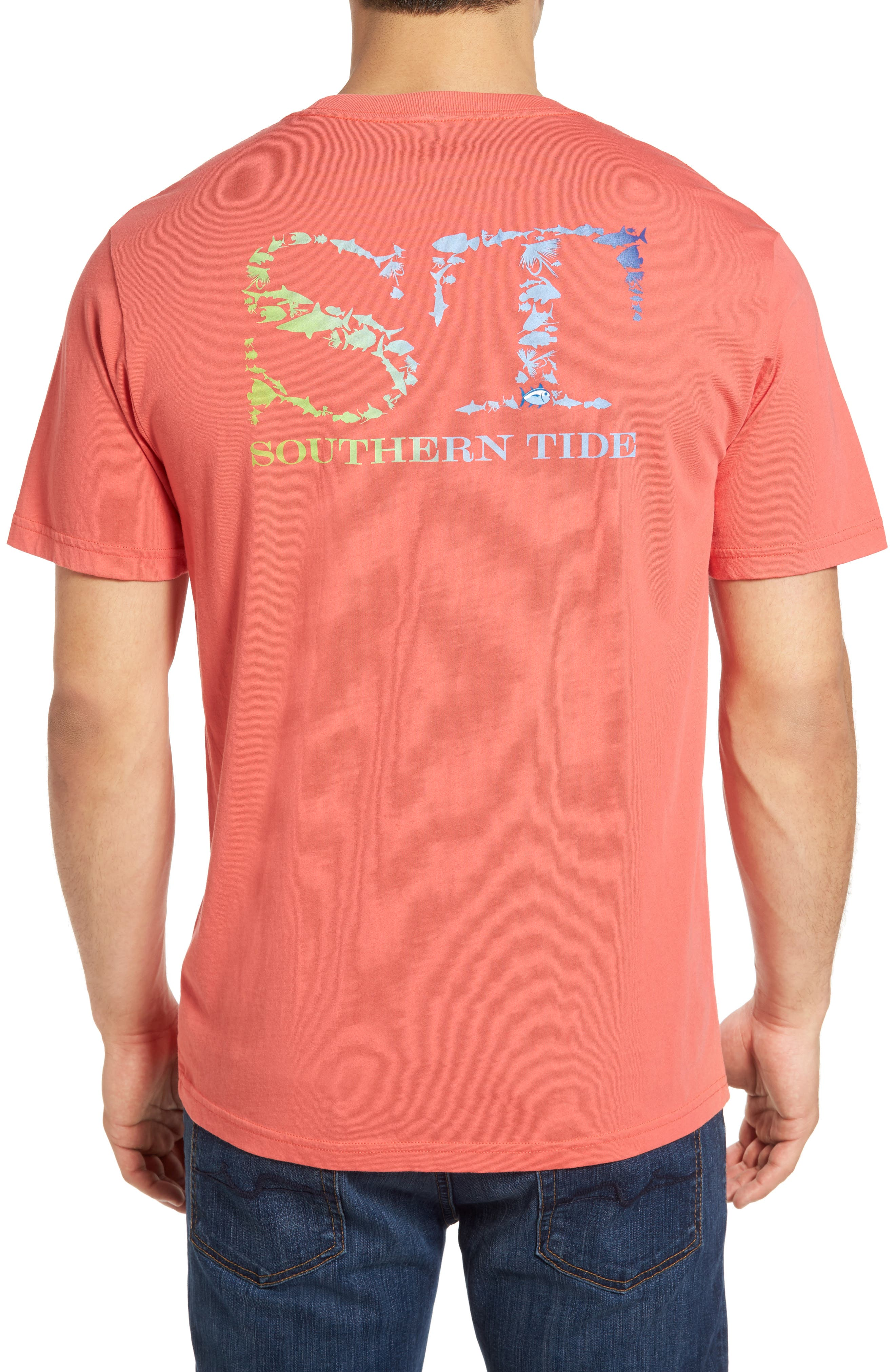 Southern Tide School of Fish Graphic T-Shirt