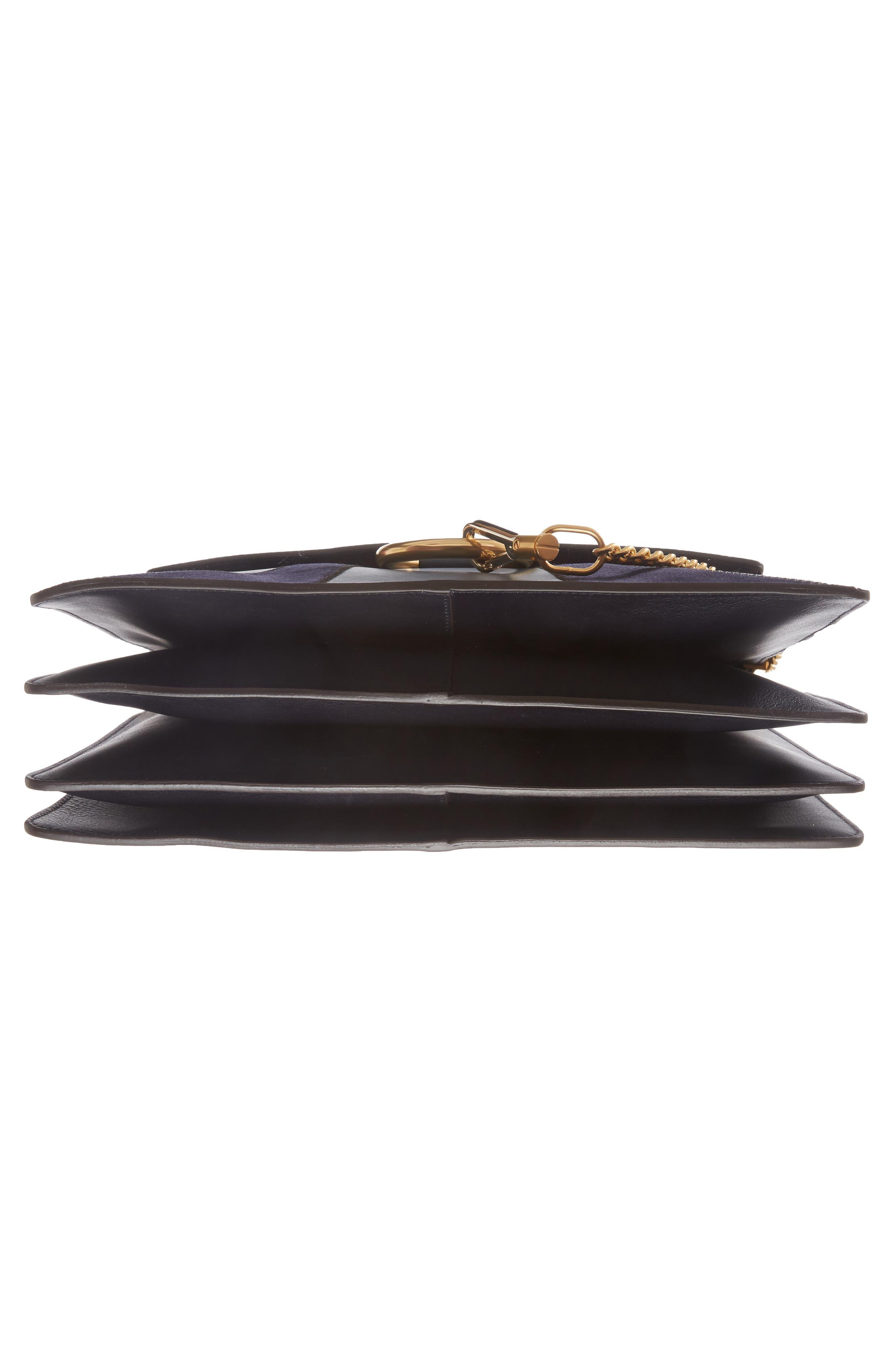 Alternate Image 6  - Chloé Medium Faye Patchwork Leather Shoulder Bag